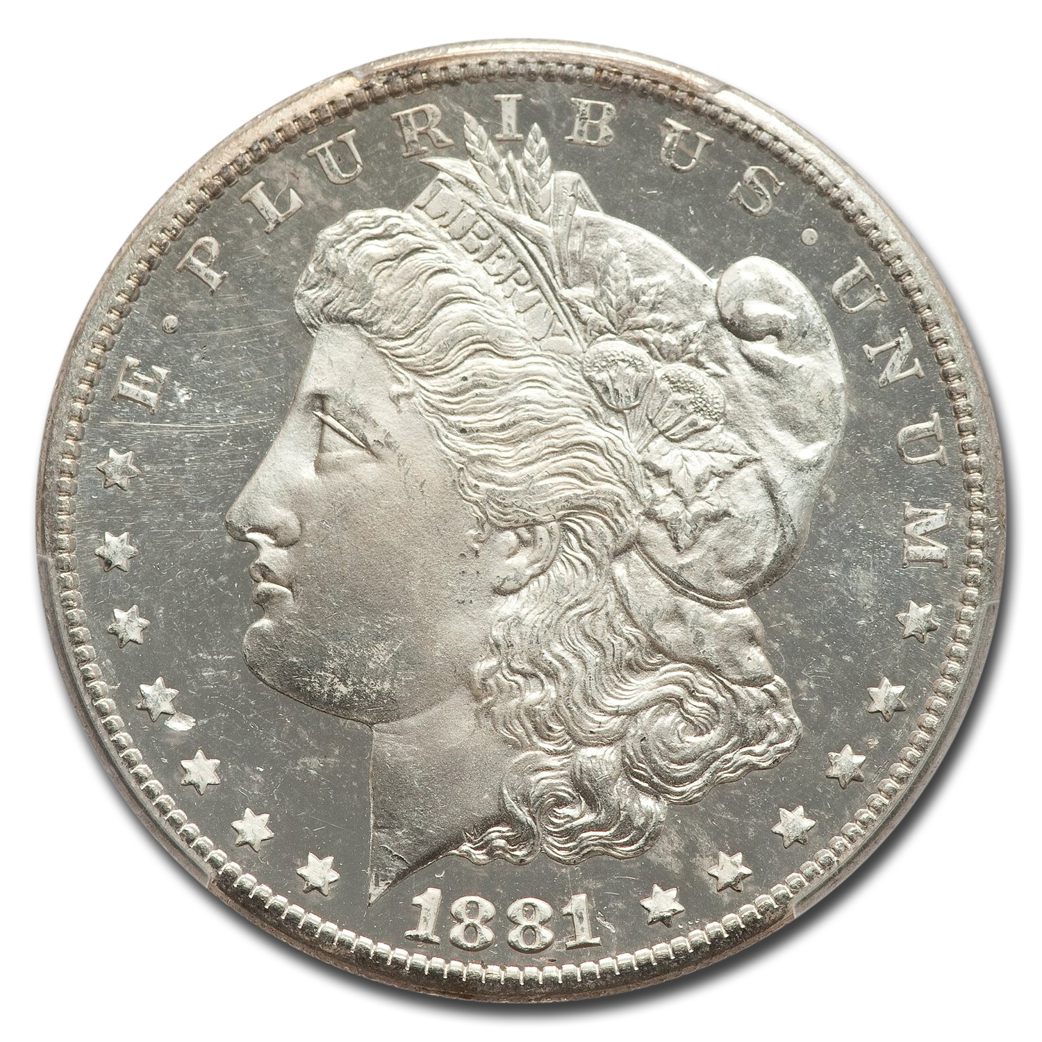 1881-S Morgan Dollar MS-65 DMPL PCGS
