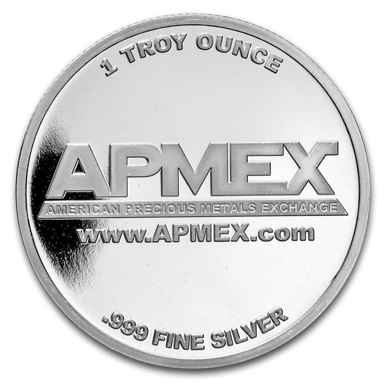 1 oz Silver Colorized Round - APMEX (Silver Reindeer)