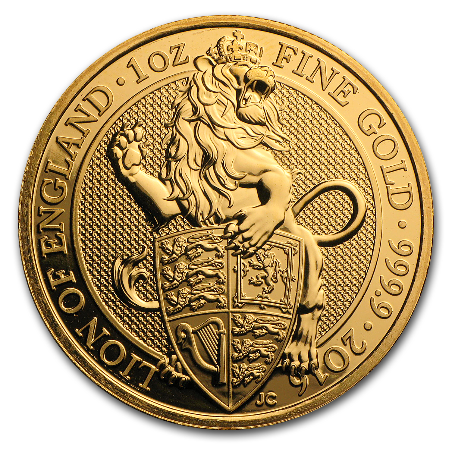 1 oz Gold Queen's Beasts (Abrasions)