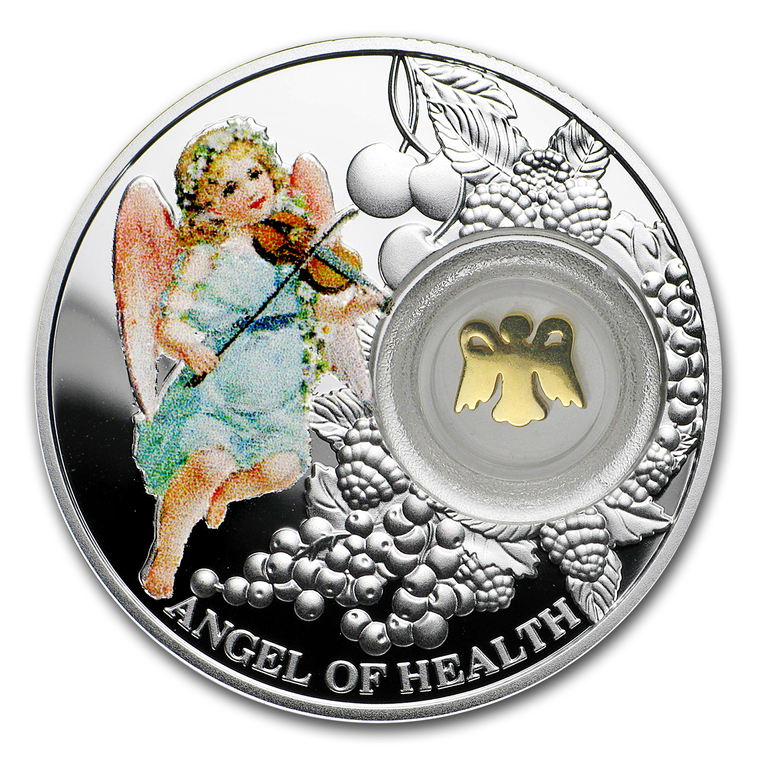 2016 Niue Silver Angel of Health Proof (Angels)