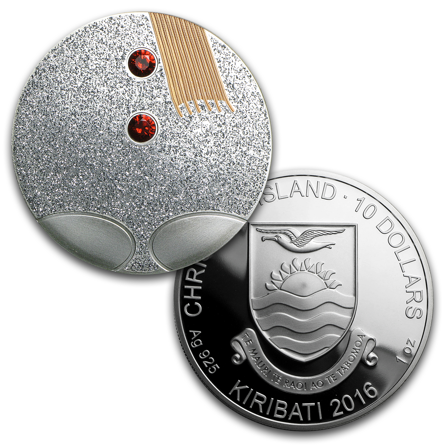 2016 Republic of Kiribati Silver 1.75 oz 3-Piece Snowwoman