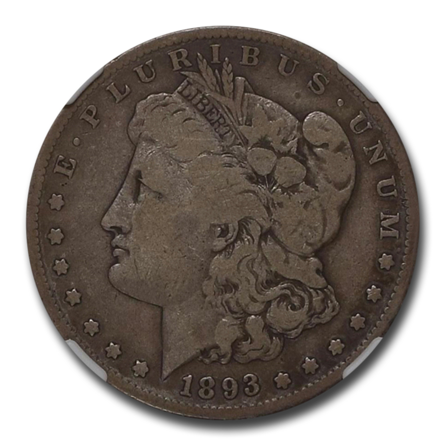 1893-S Morgan Dollar VG-10 NGC