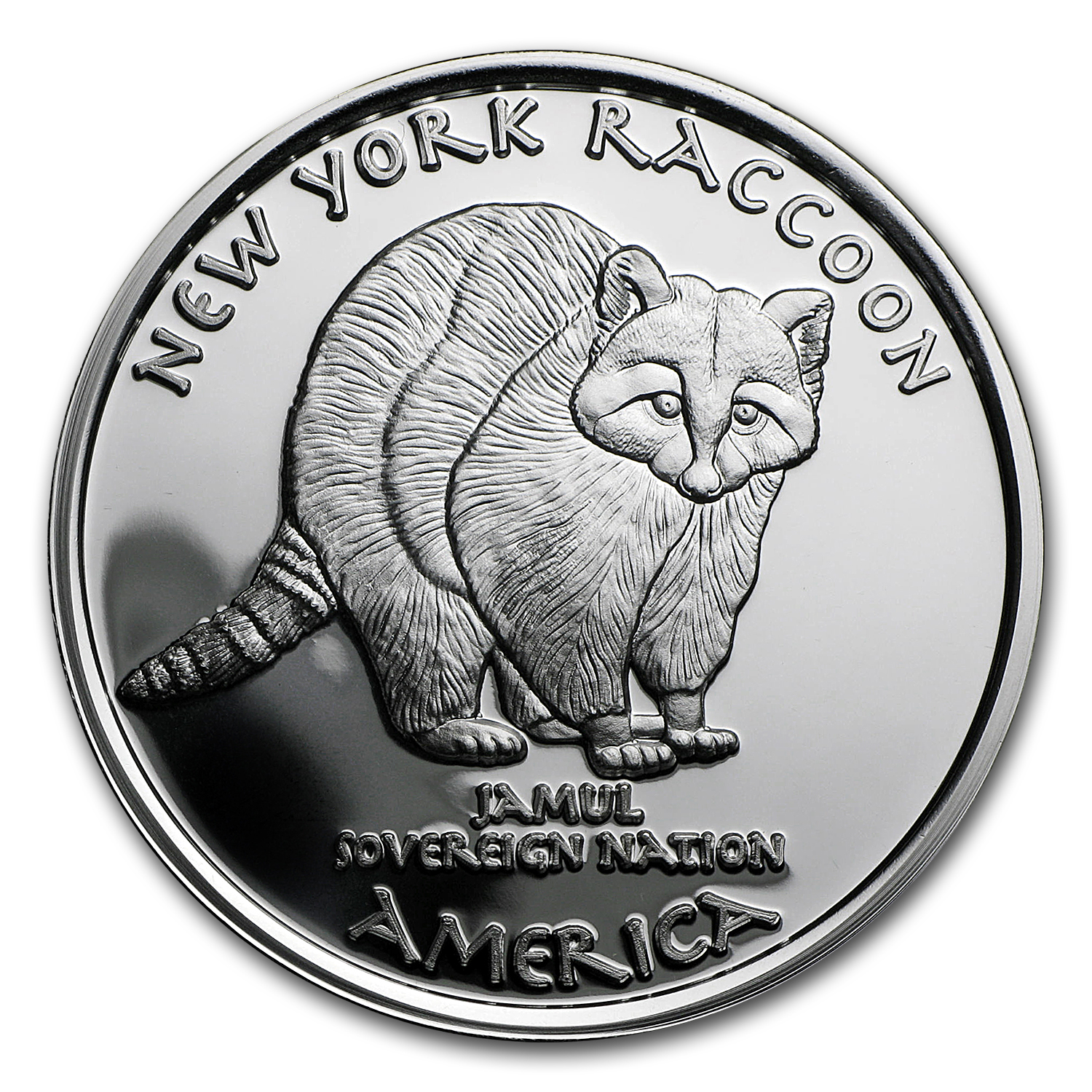 2016 1 oz Silver Proof State Dollars New York Mohawk
