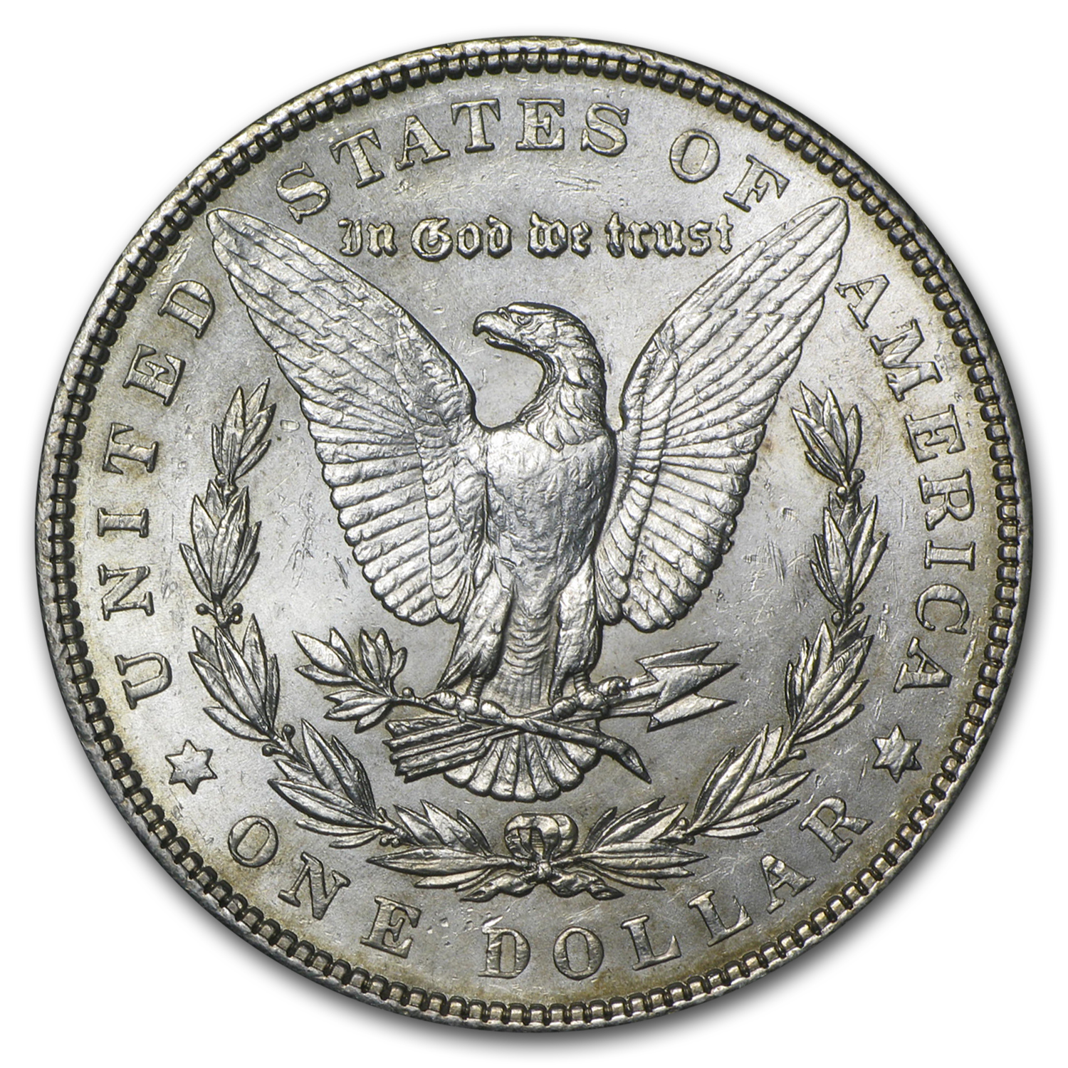 1904 Morgan Dollar - Almost Uncirculated-58