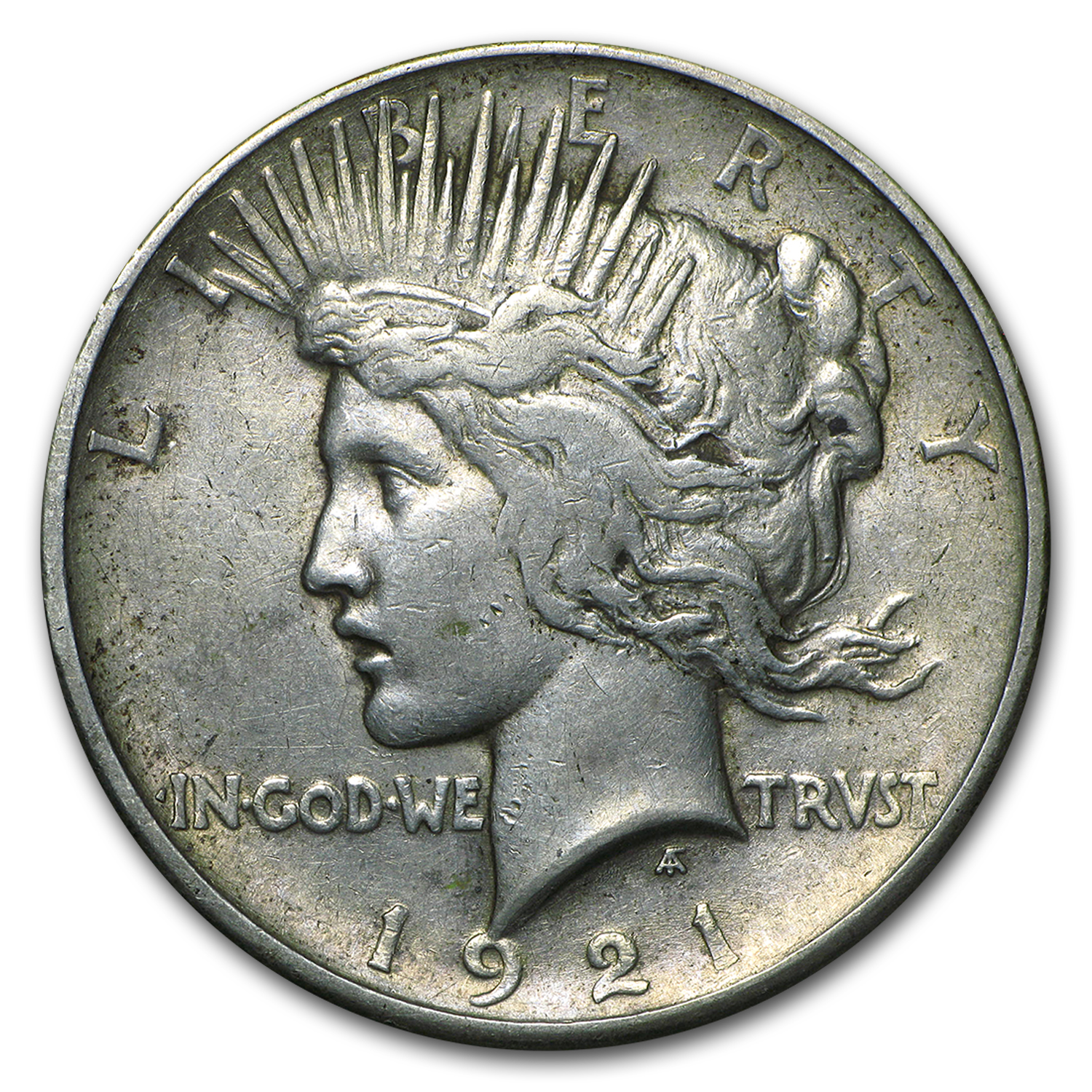 1921 Peace Dollar VF (High Relief)