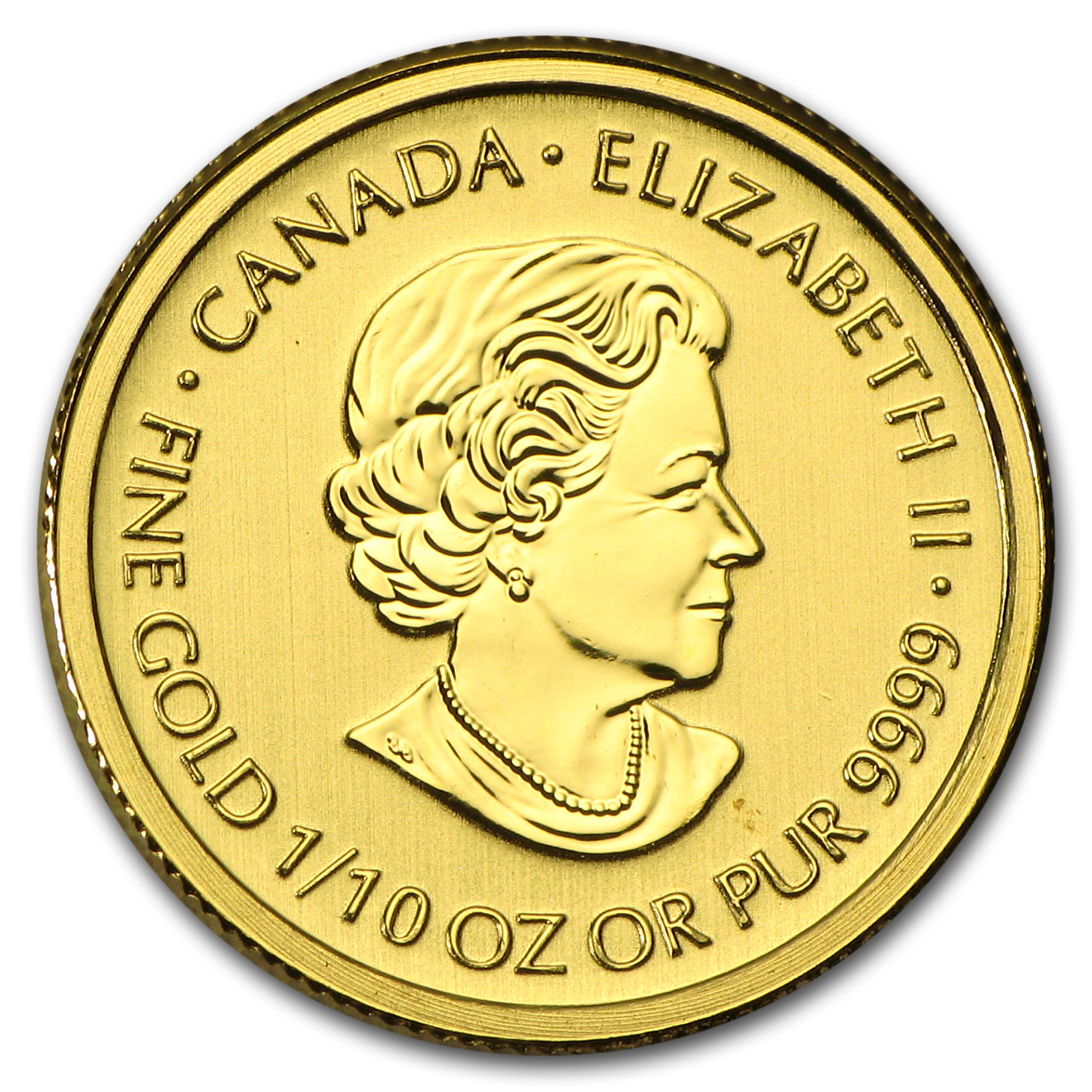 2015 Canada 1/10 oz Gold $5 Special Service Force BU