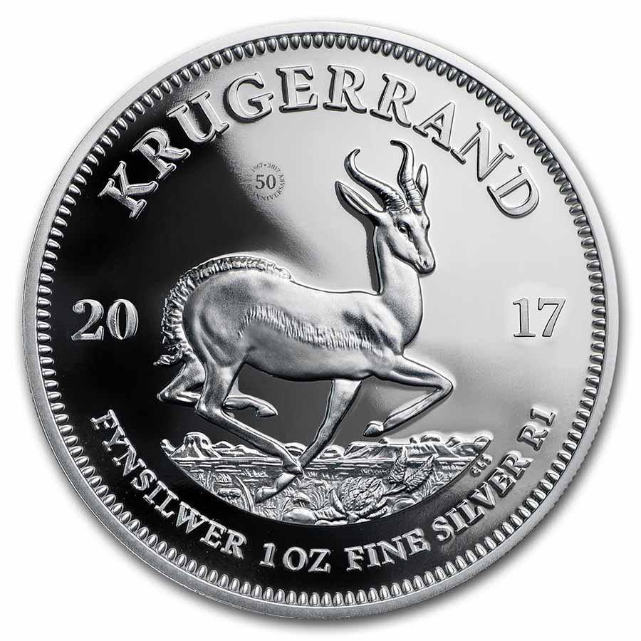 Buy 2017 South Africa 1 Oz Silver Krugerrand Proof