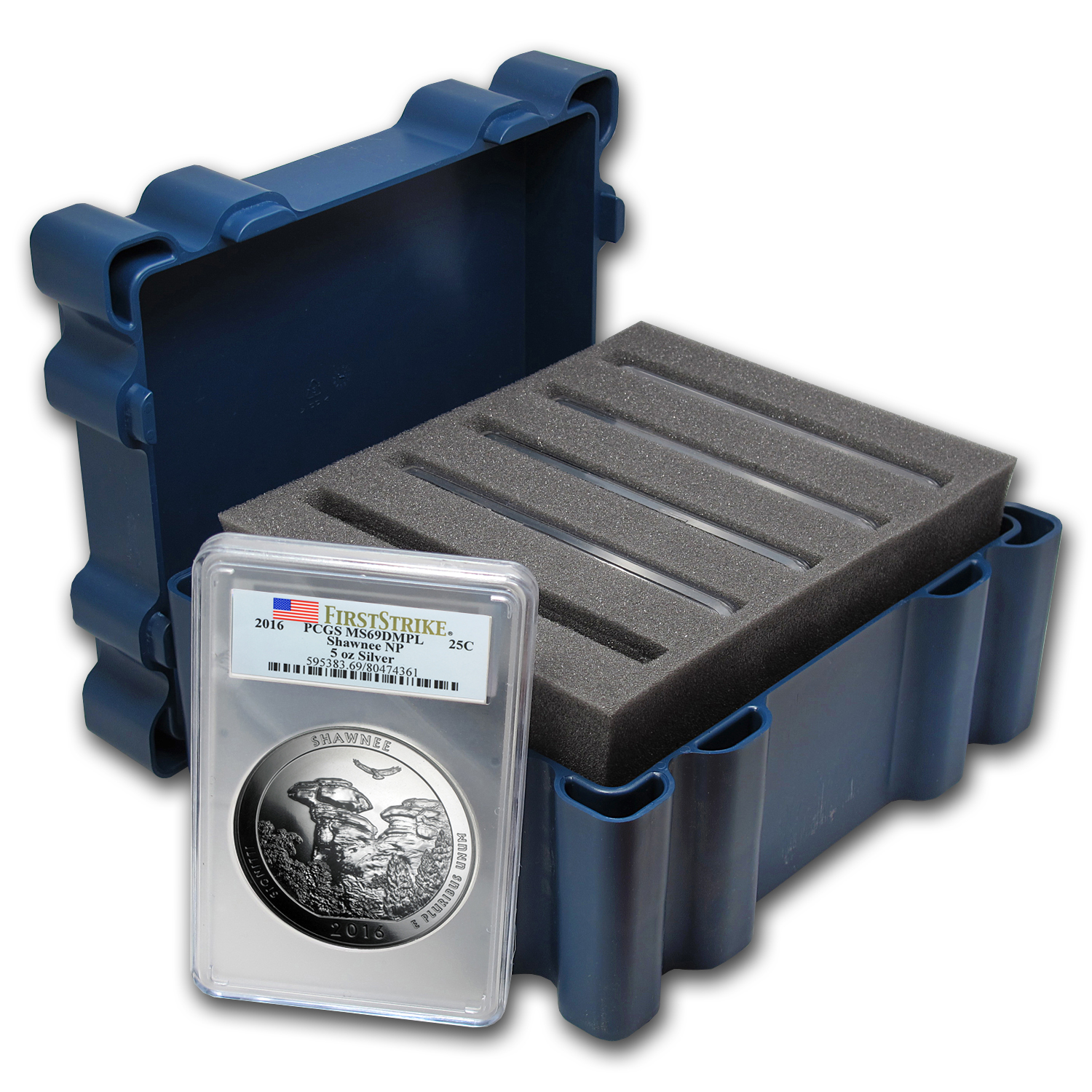 2016 5-Coin 5 oz Silver ATB Set MS-69 DMPL PCGS (First Strike)