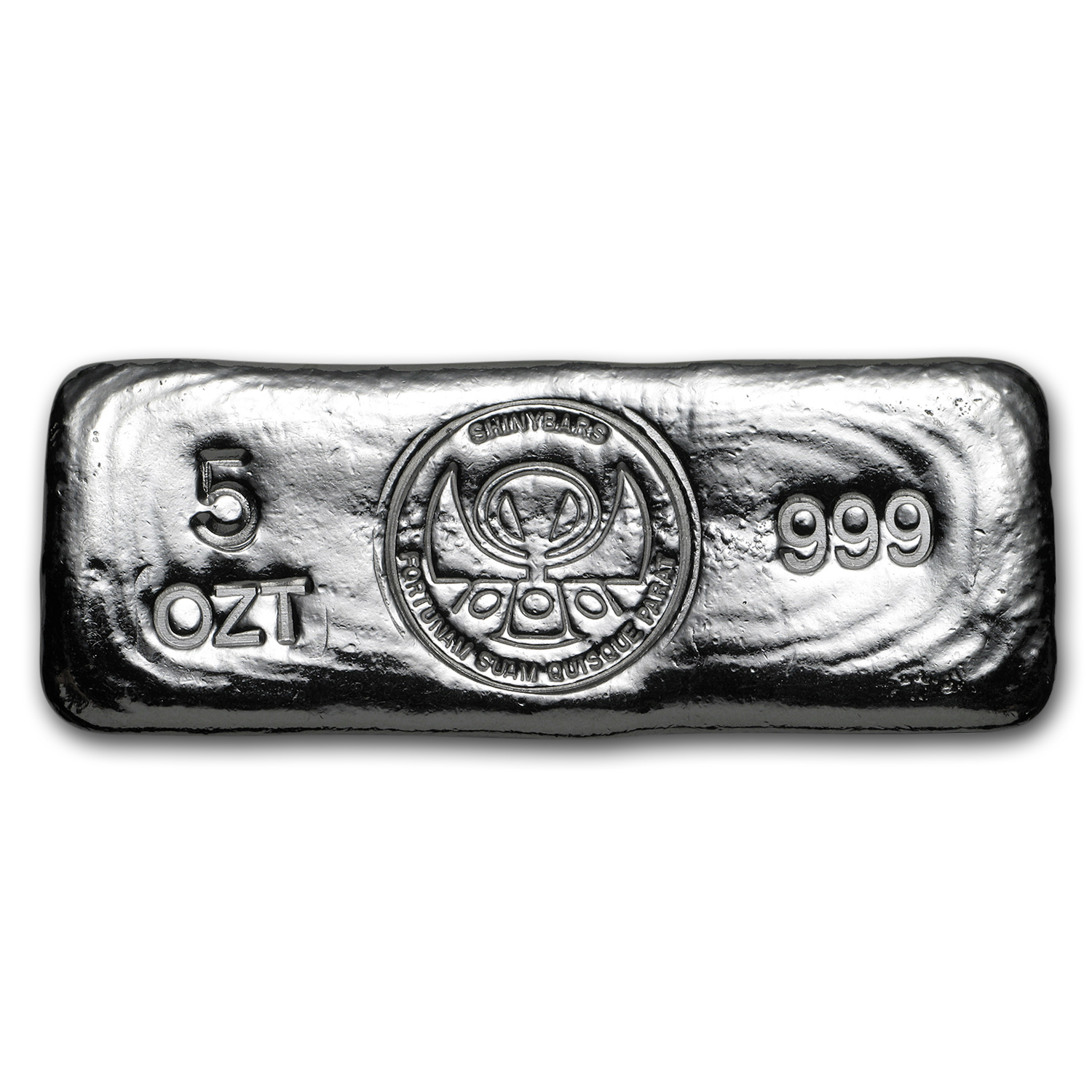 5 oz Silver Kit-Kat Bar - ShinyBars