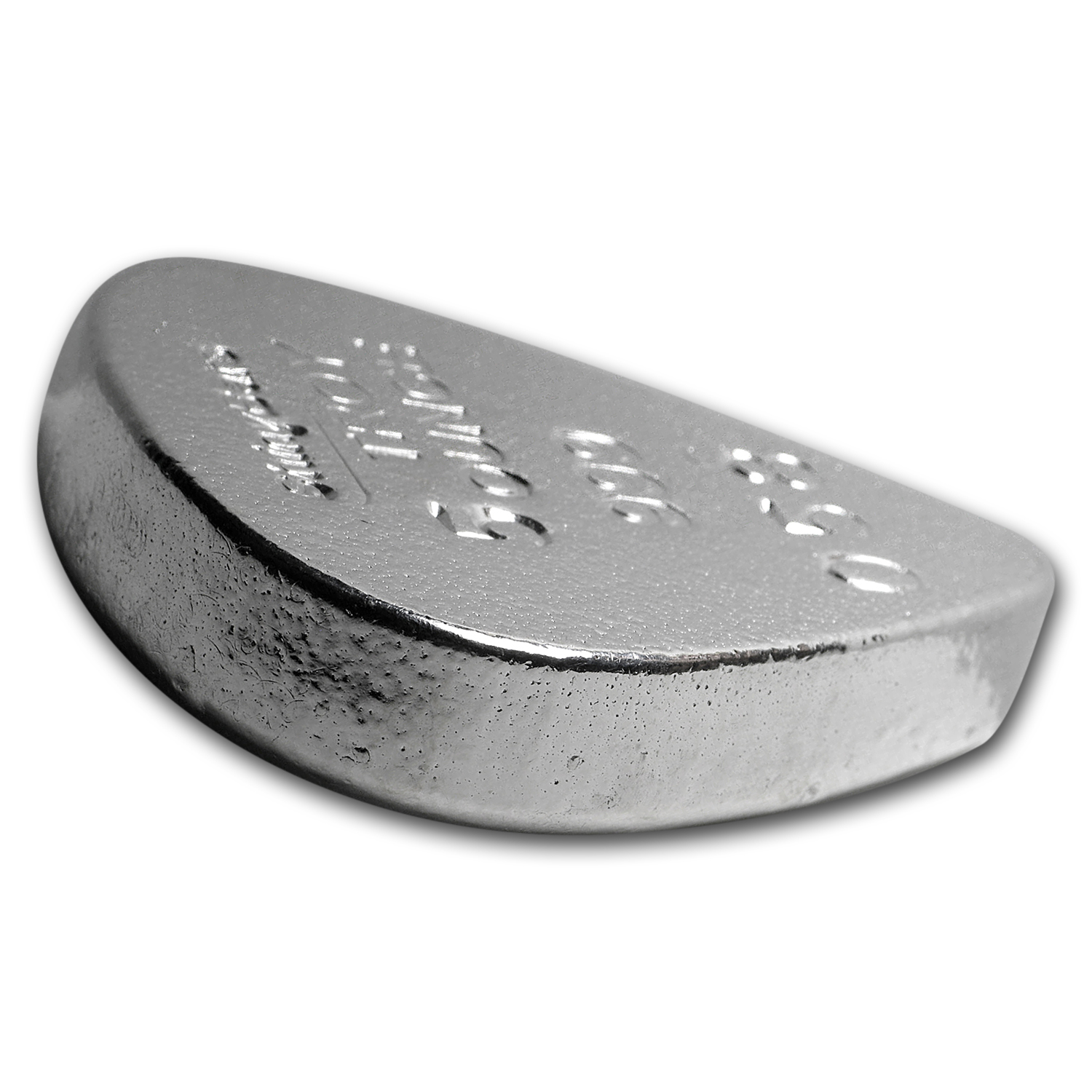 5 oz Silver Guitar Pick - ShinyBars