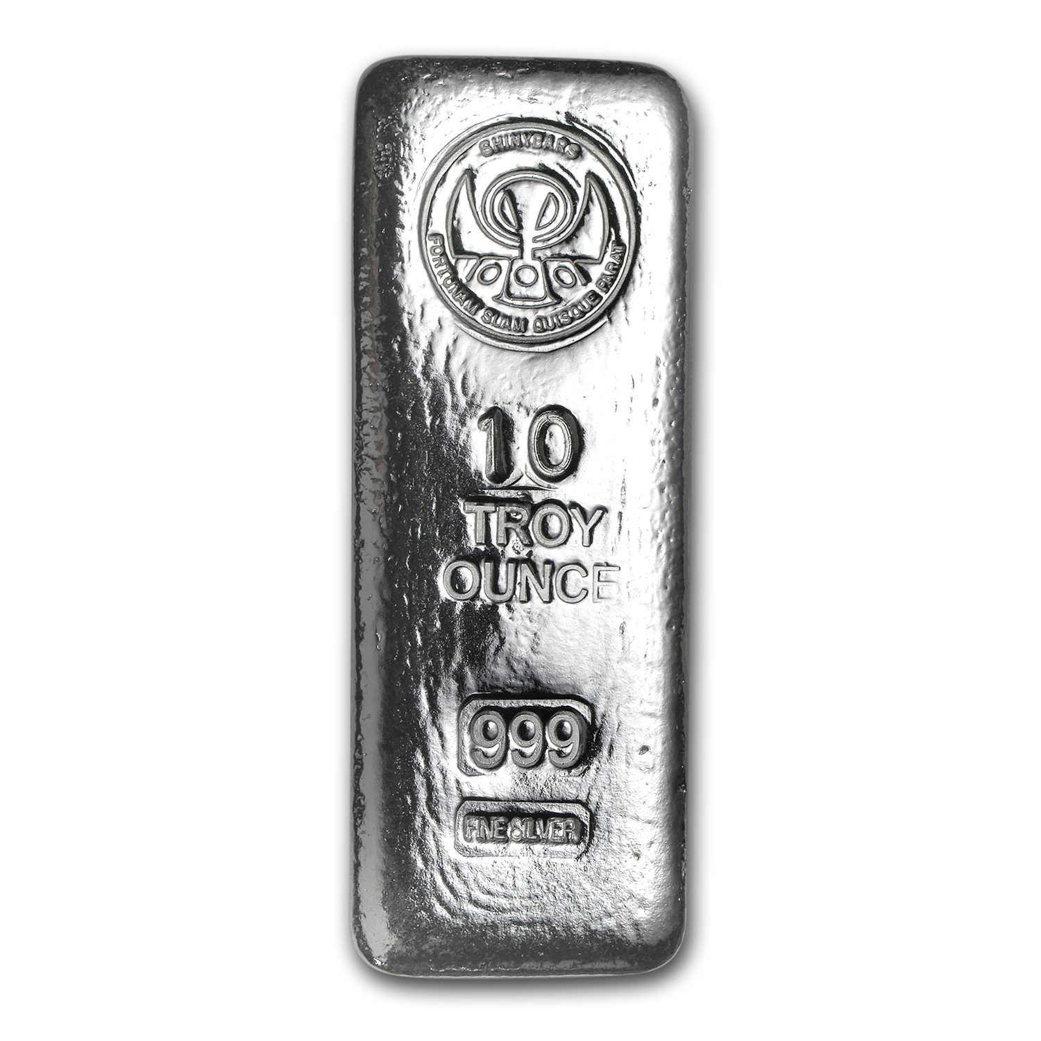 10 oz Silver Kit-Kat Bar - ShinyBars