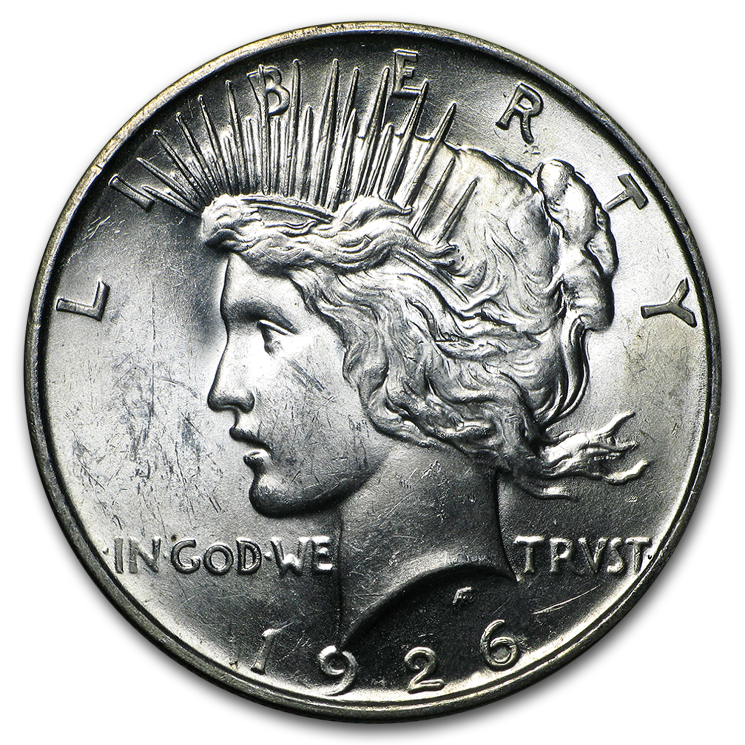 1926-D Peace Dollar - Brilliant Uncirculated