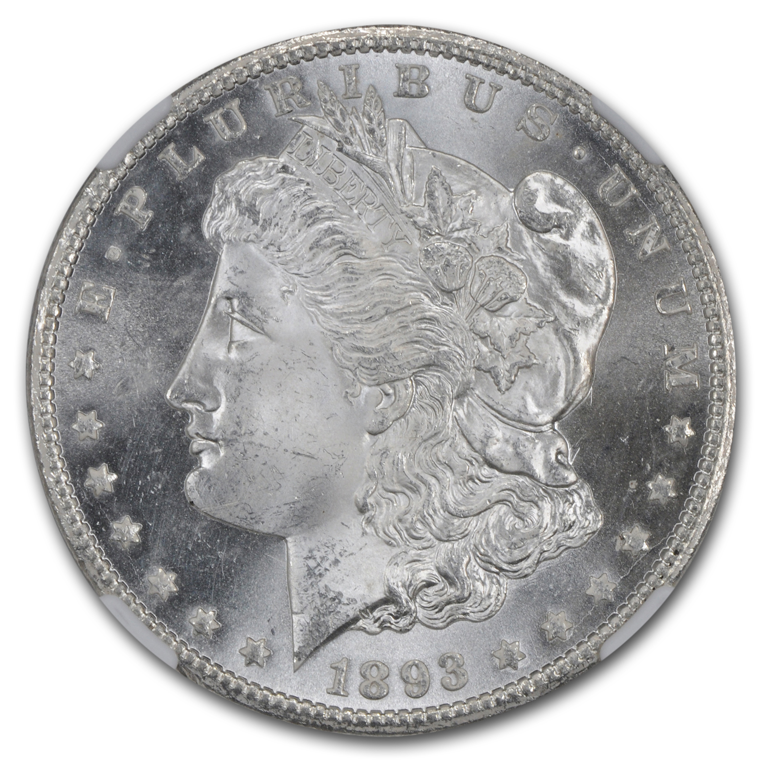 1893-CC Morgan Dollar MS-65 NGC
