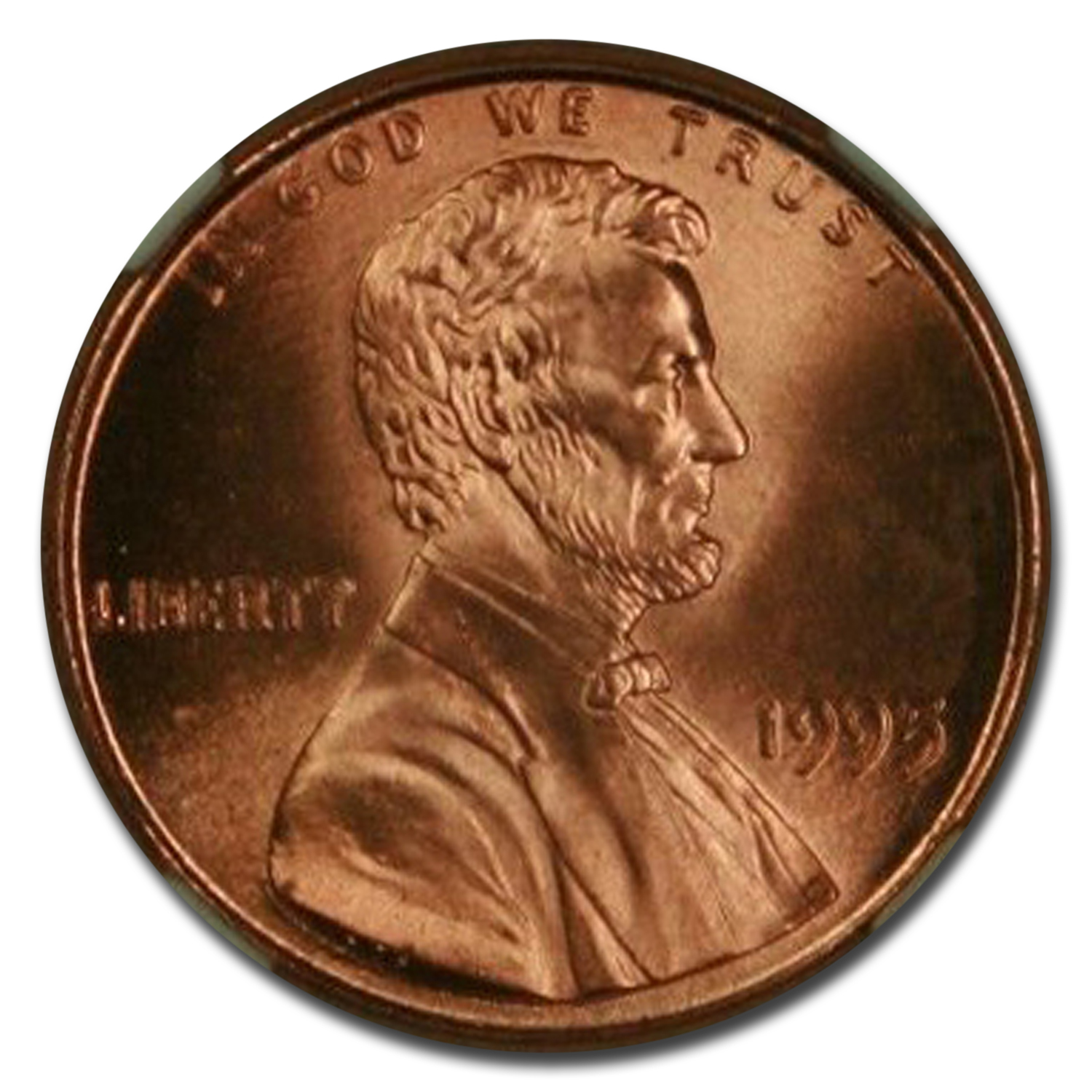 1995 Lincoln Cent Doubled Die Obv MS-69 NGC (Red)