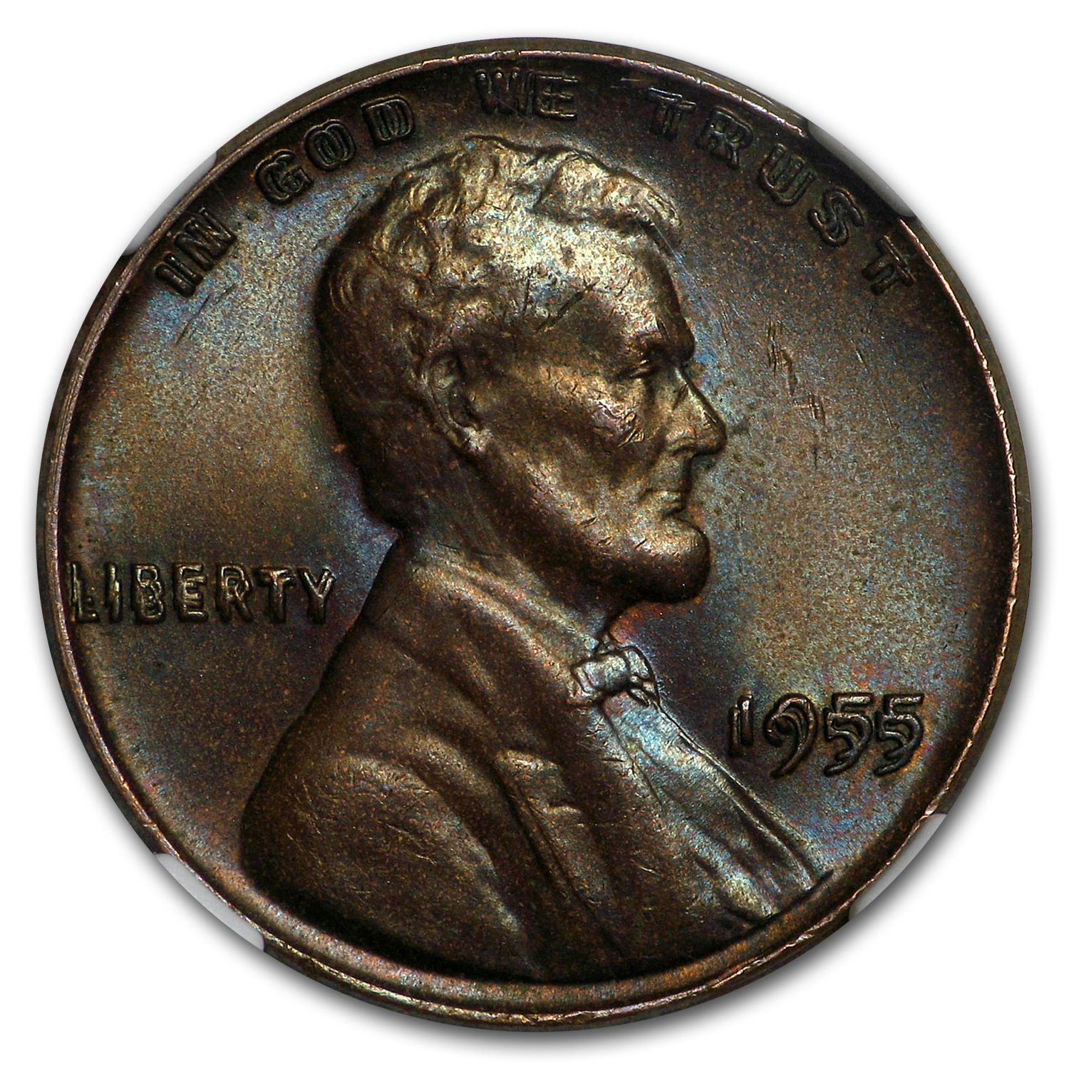 1955 Lincoln double die cent