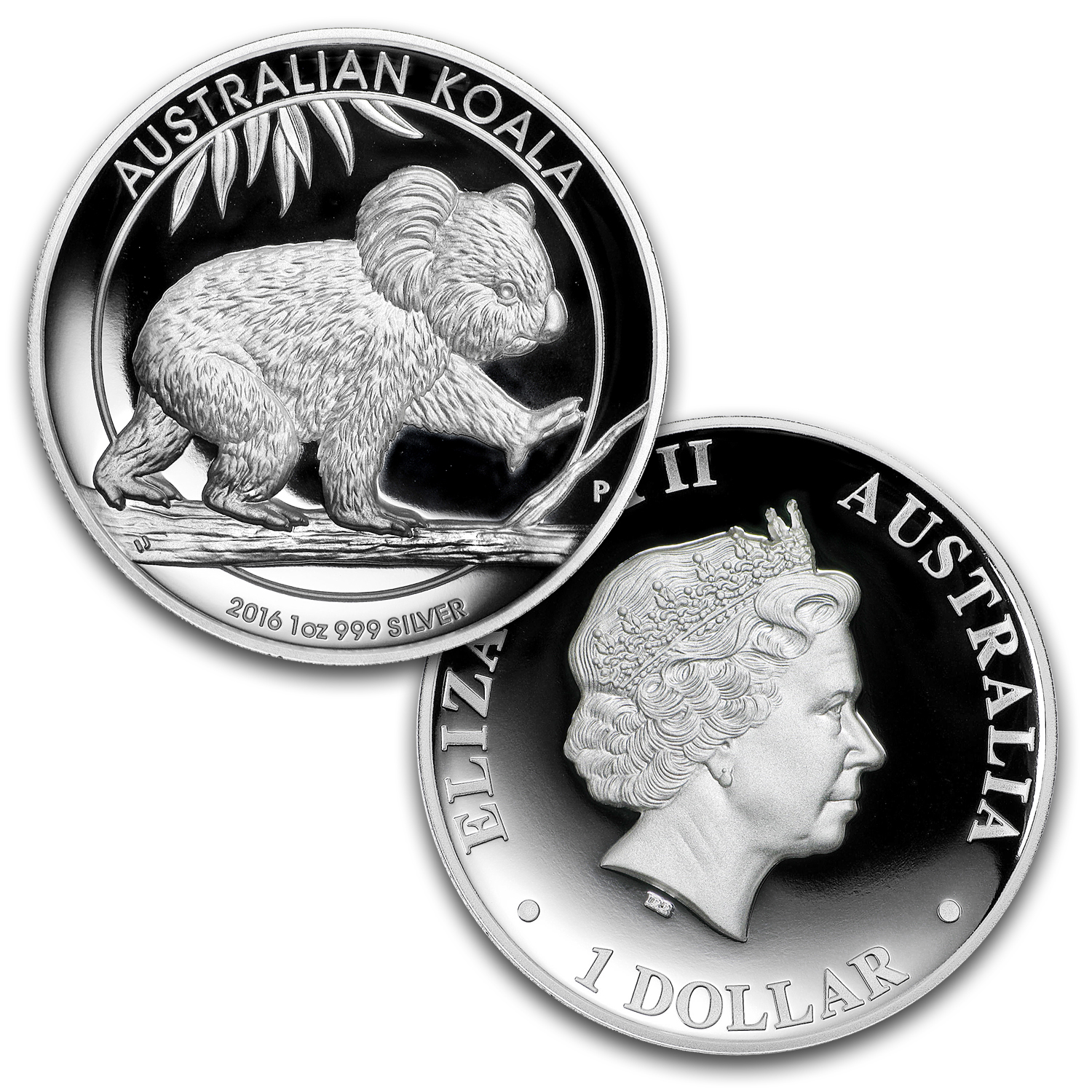 2016 Australia 3-Coin 1 oz Silver Proof High Relief Set