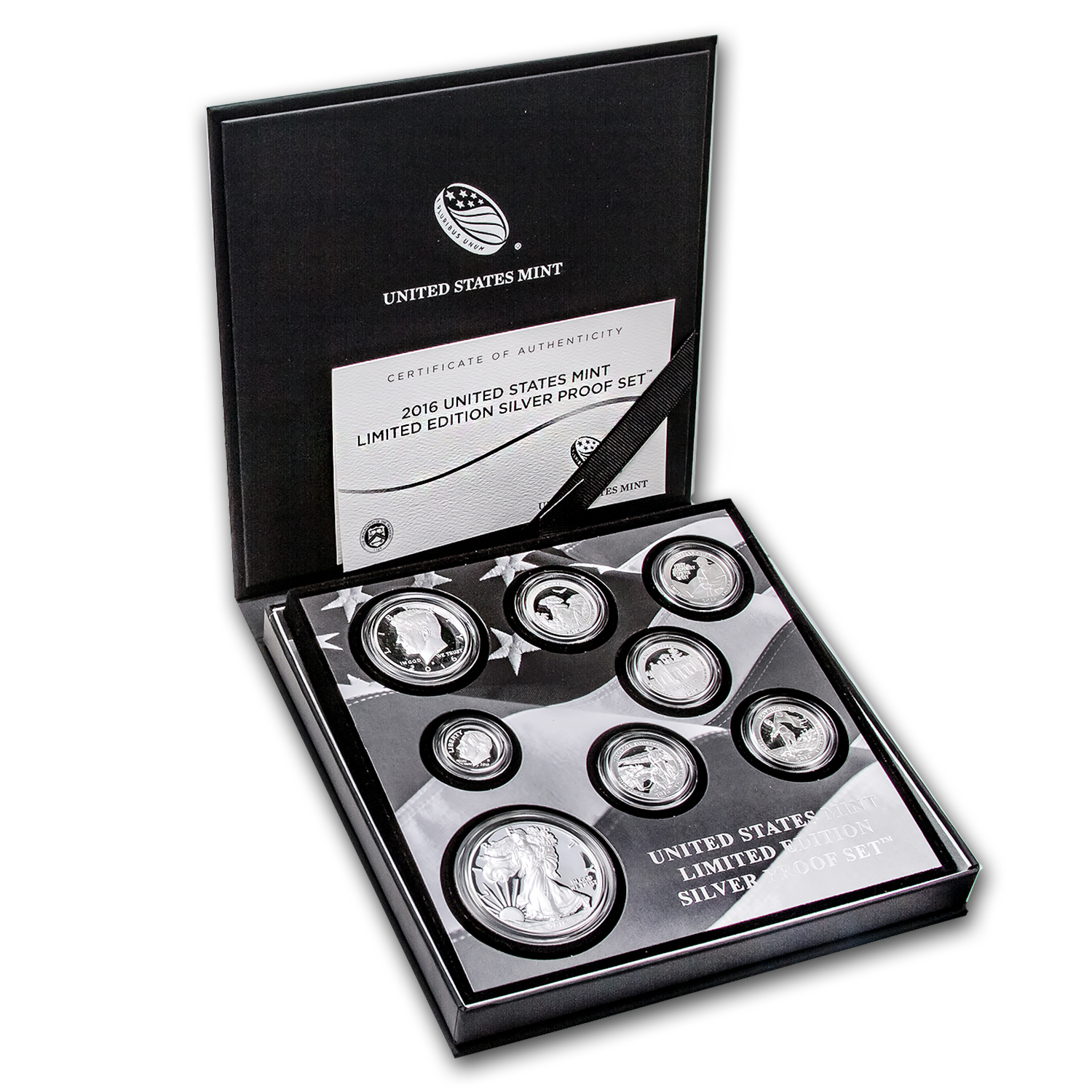 2016 Limited Edition Silver Proof Set