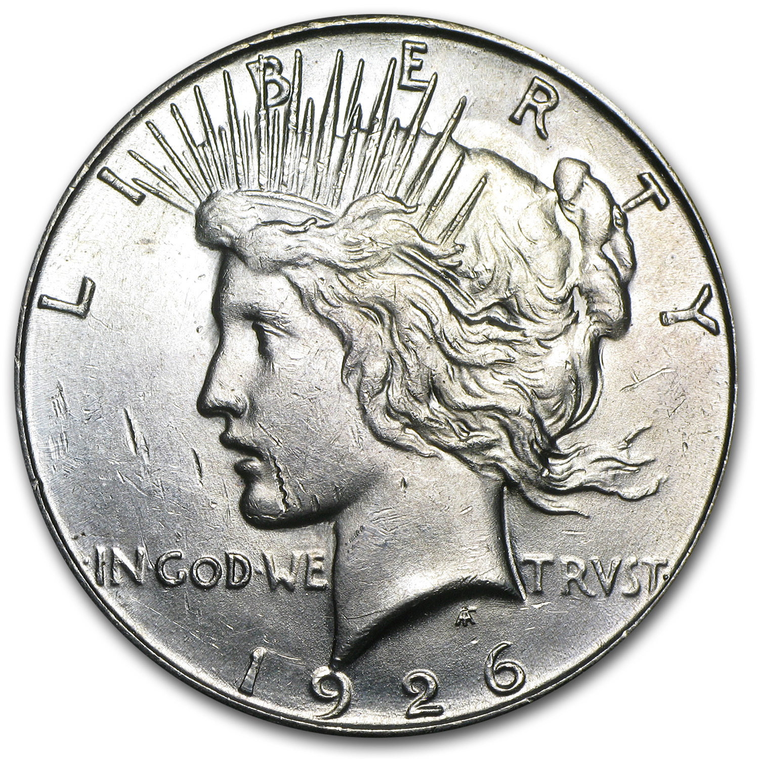 1926-S Peace Dollar - Brilliant Uncirculated