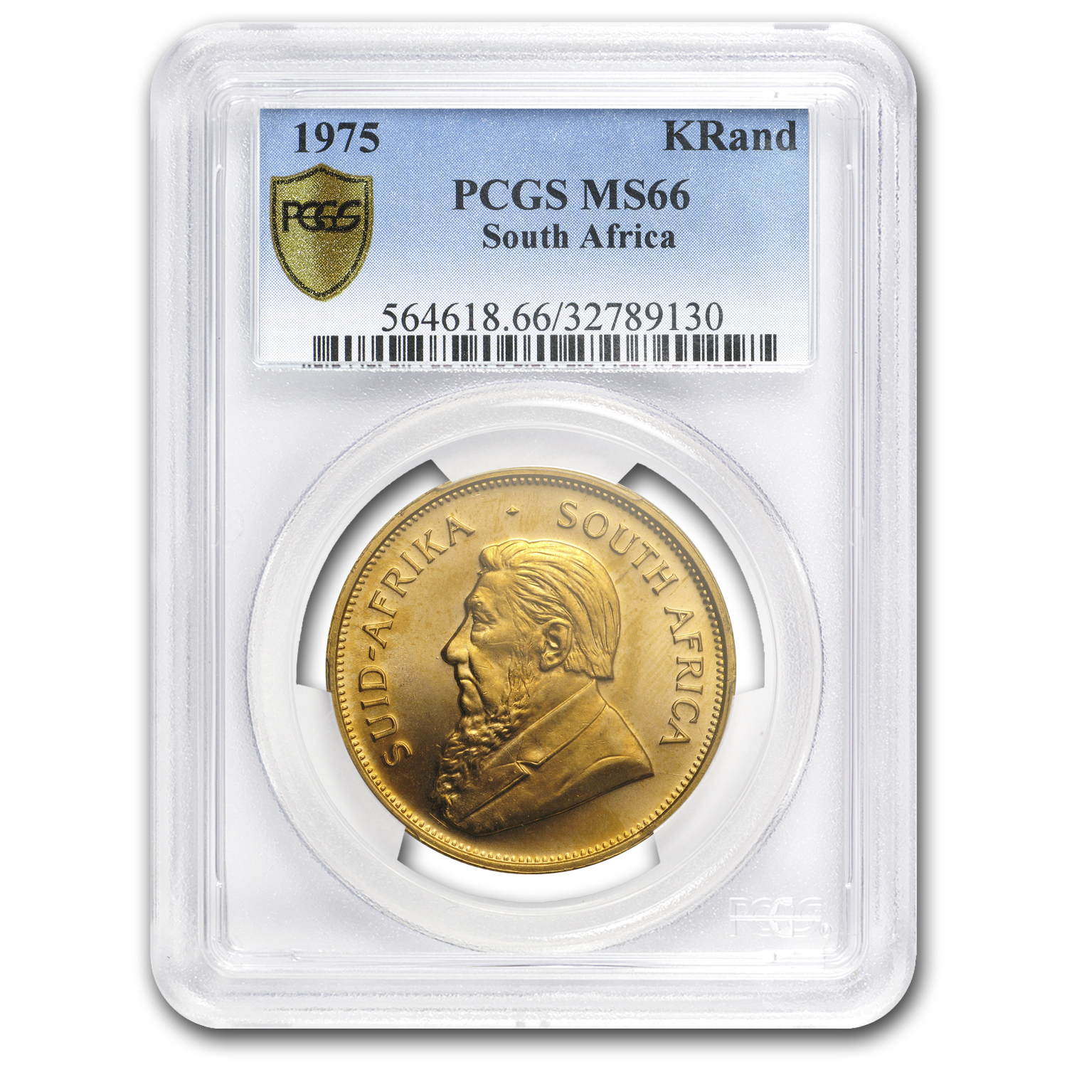 1975 South Africa 1 oz Gold Krugerrand MS-66 PCGS