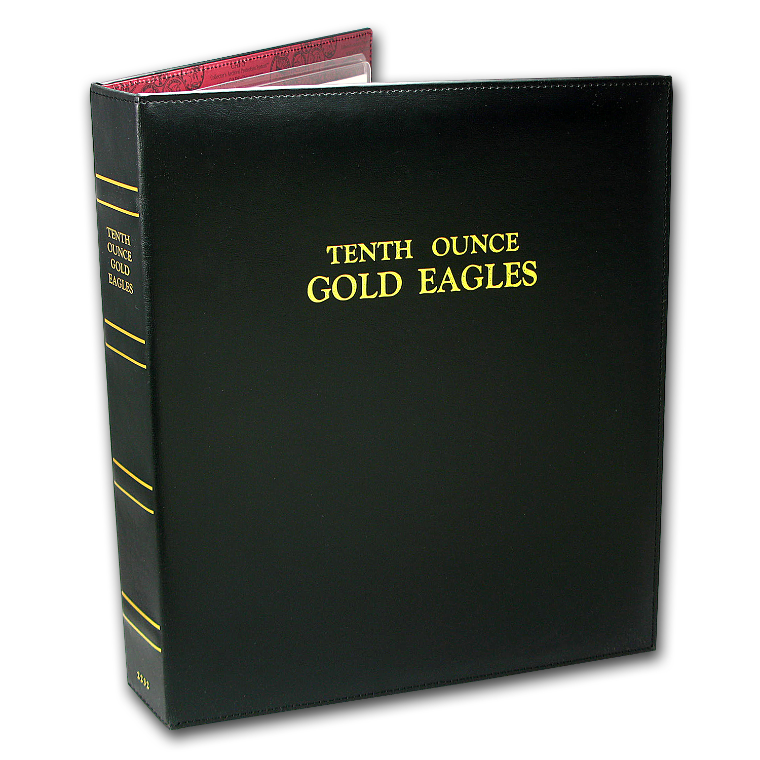 CAPS Album for 1/10 oz Gold American Eagle Date Set (1986-2017)