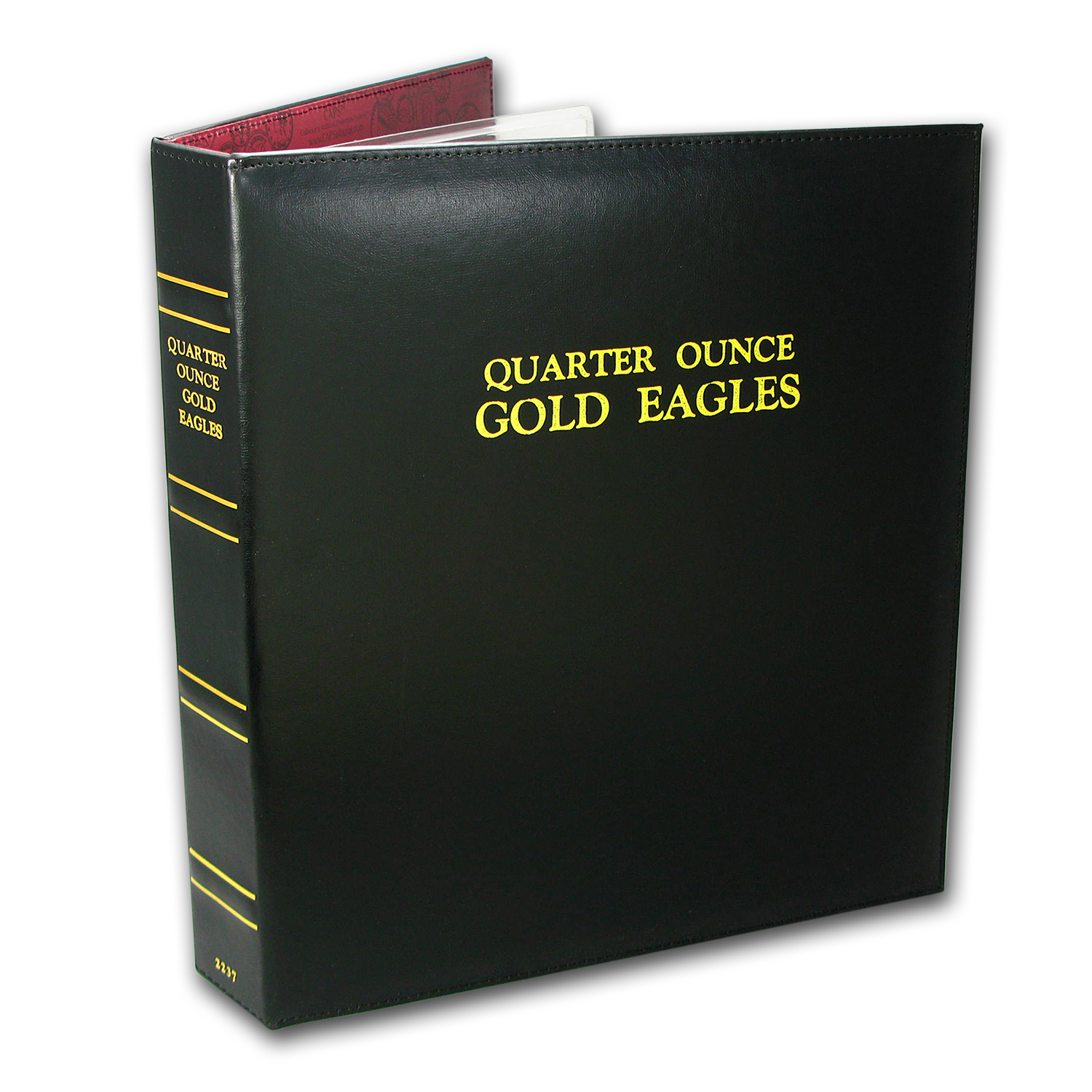 CAPS Album for 1/4 oz Gold American Eagle Date Set (1986-2017)