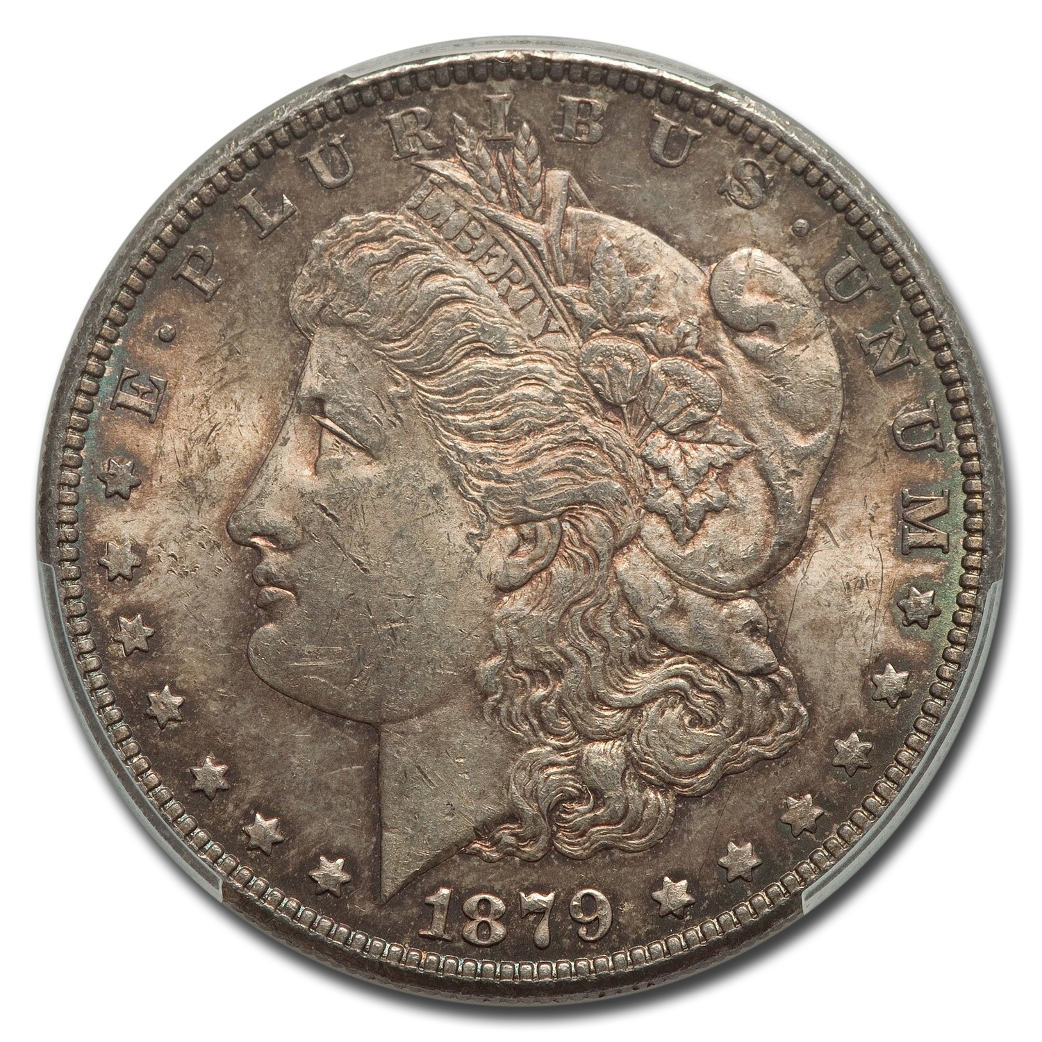 1879-S Morgan Dollar - Reverse of 1878 - MS-61 PCGS