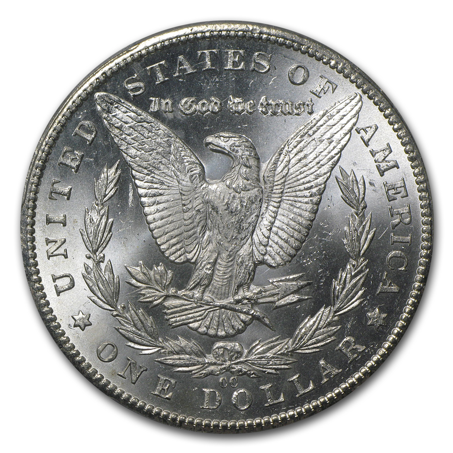 1884-CC Morgan Dollar - MS-63 PCGS