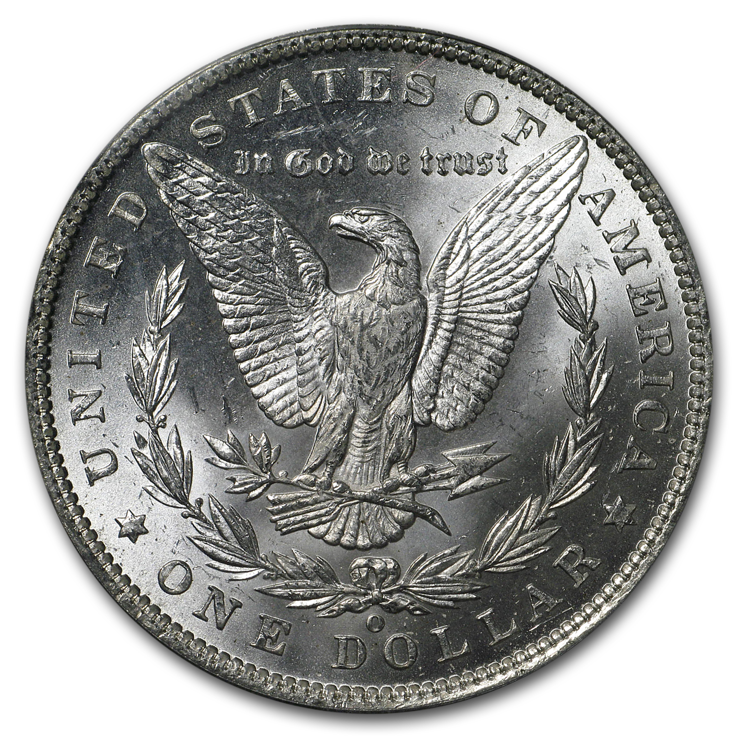 1887-O Morgan Dollar MS-62 PCGS