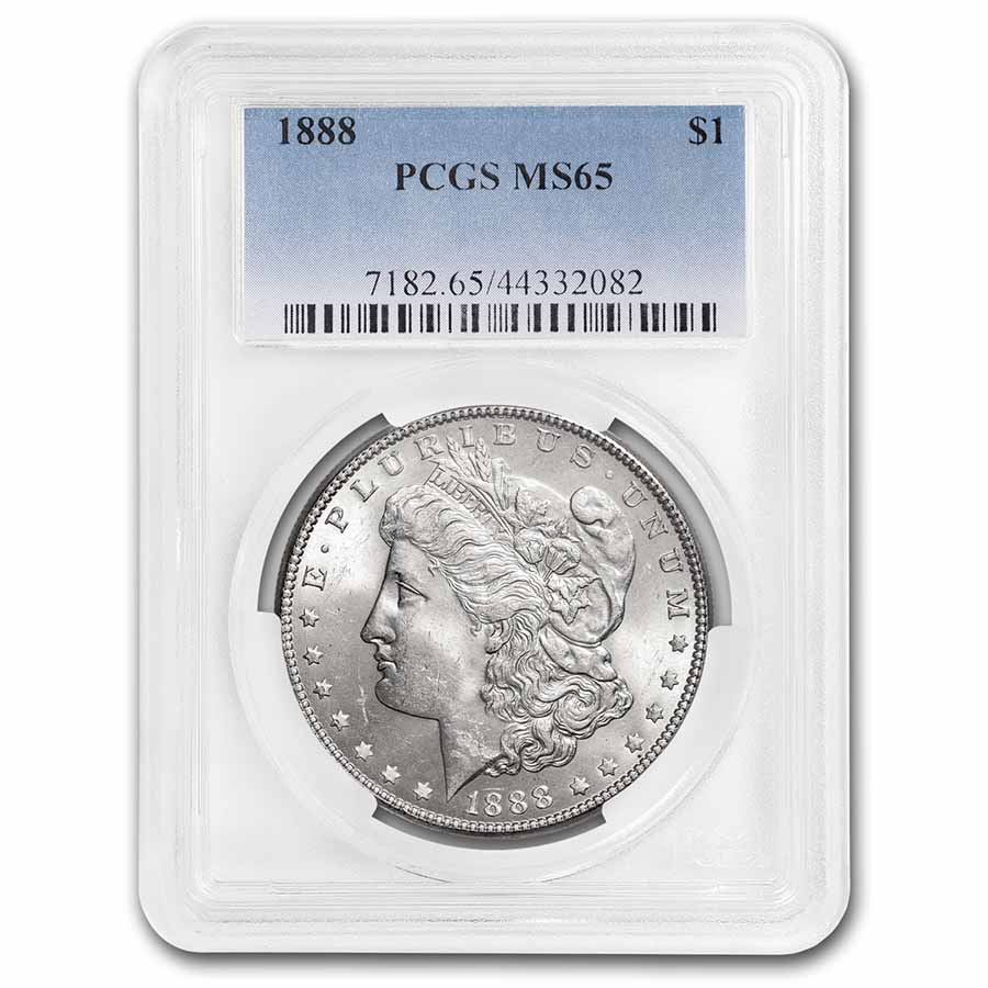 1888 Morgan Dollar - MS-65 PCGS