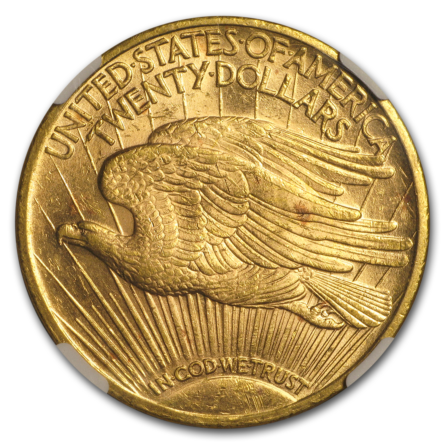 1923 $20 St. Gaudens Gold Double Eagle MS-62 NGC