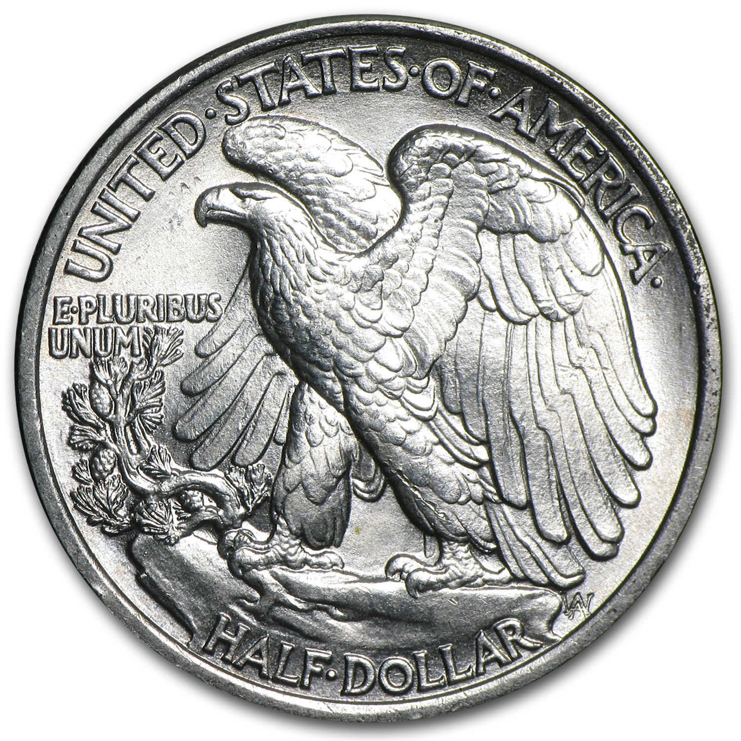 1936 Walking Liberty Half Dollar - Brilliant Uncirculated