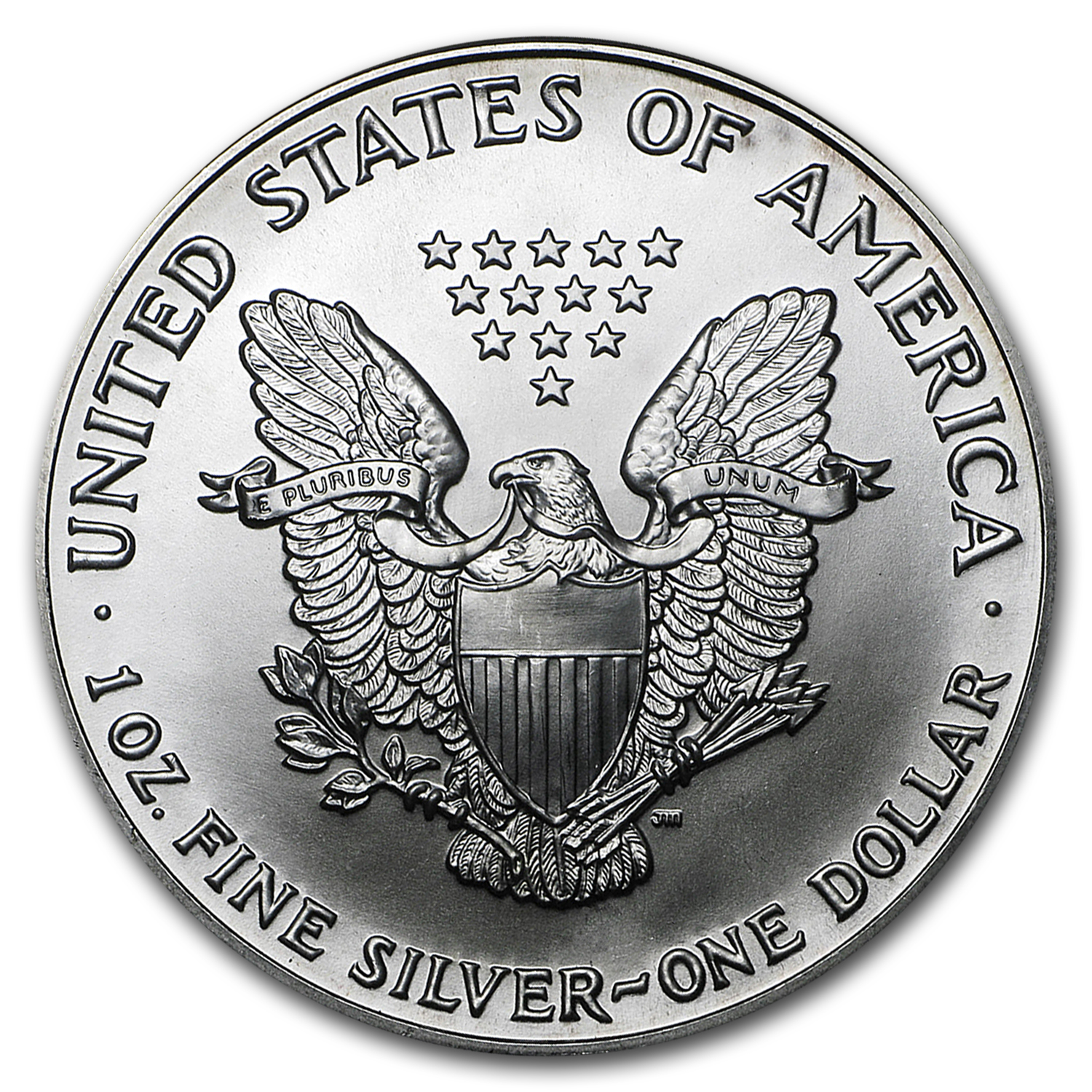 1990 1 oz Silver American Eagle (Brilliant Uncirculated)
