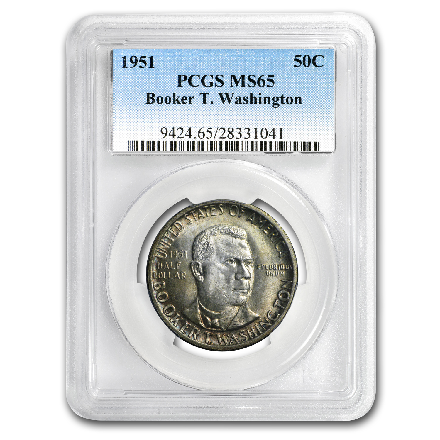 1951 Booker T. Washington Half MS-65 PCGS