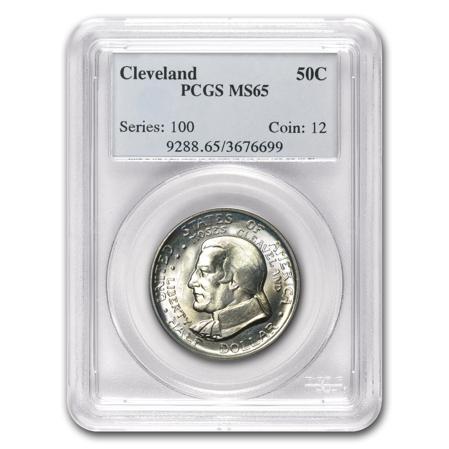 1936 Cleveland/Great Lakes Half MS-65 PCGS