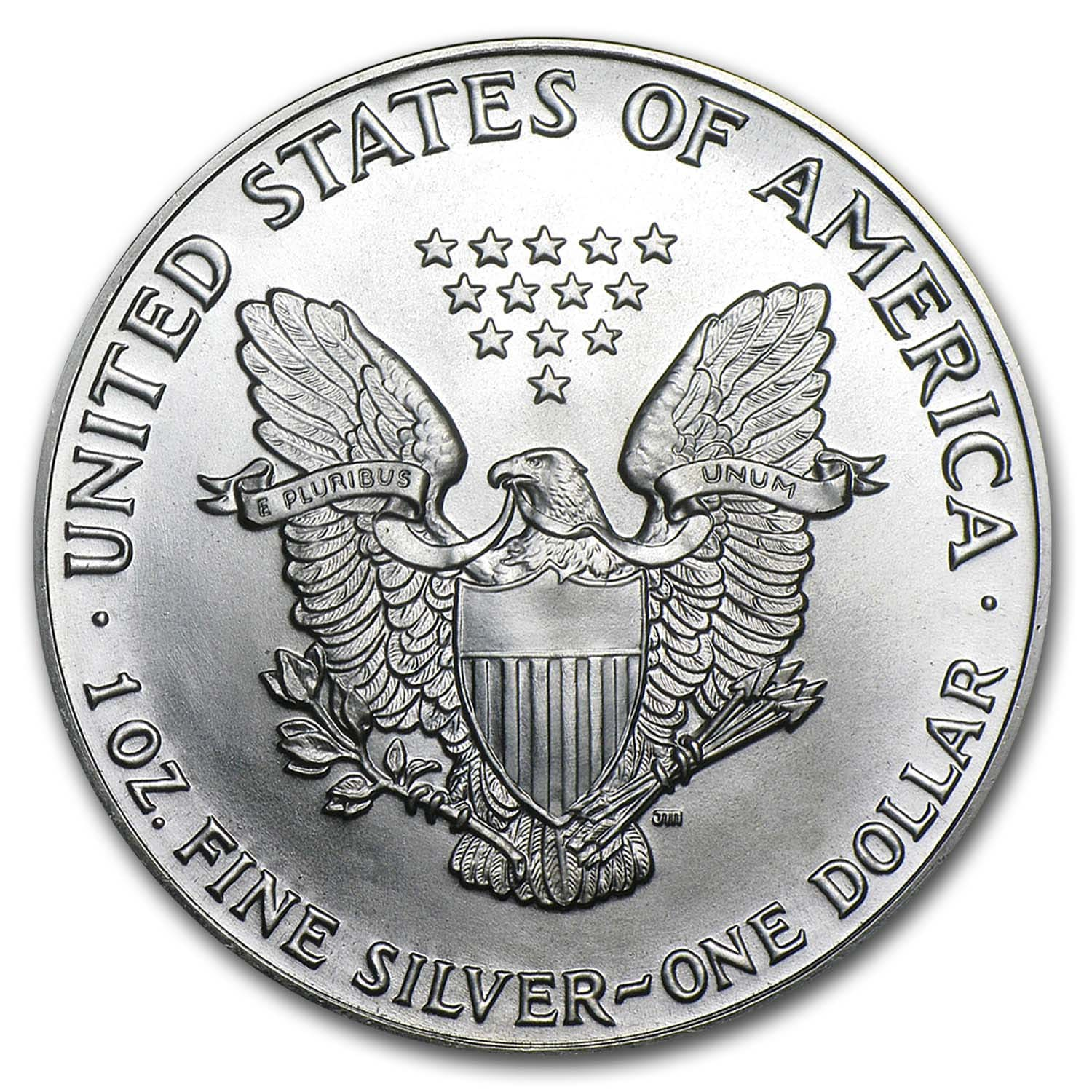 1988 1 oz Silver American Eagle (Brilliant Uncirculated)