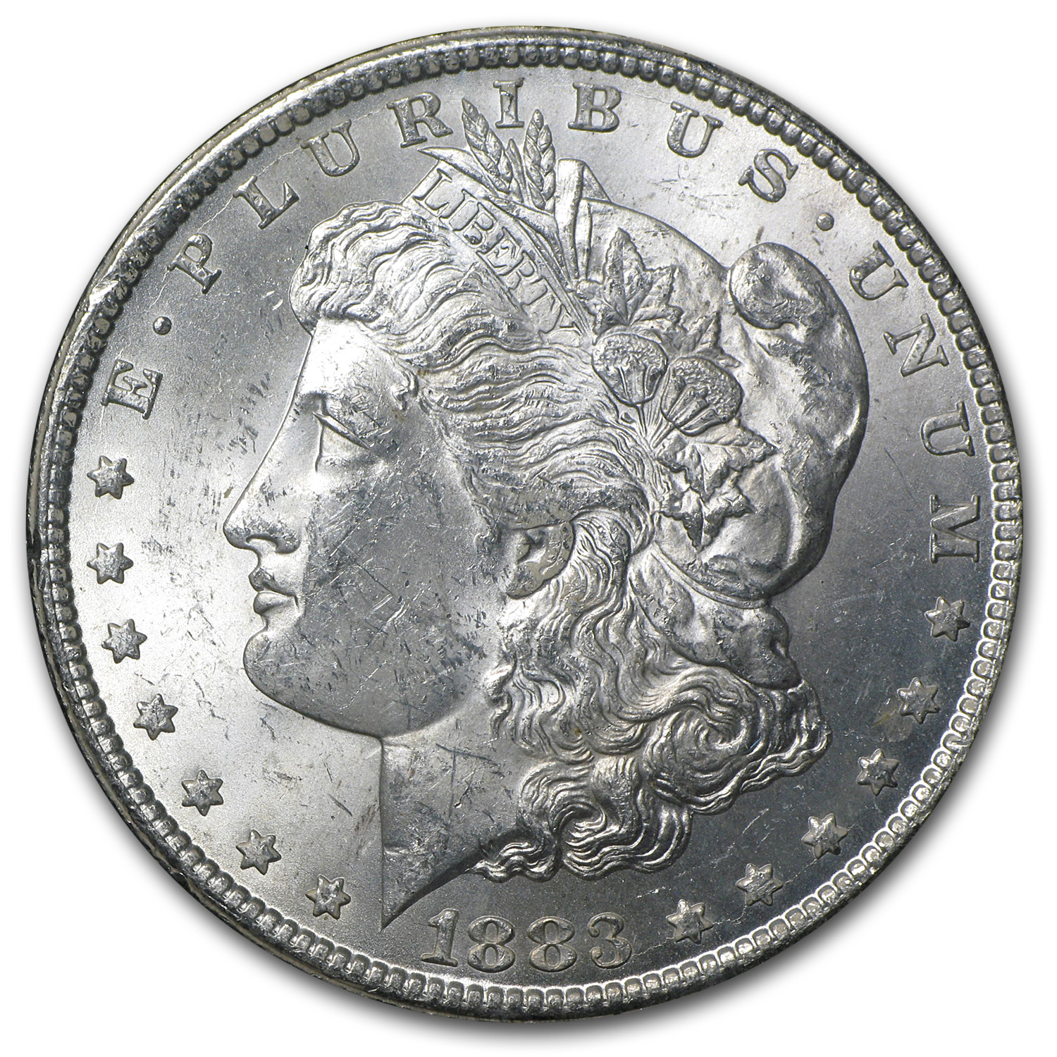 1883-CC Morgan Dollar Brilliant Uncirculated - GSA Holder
