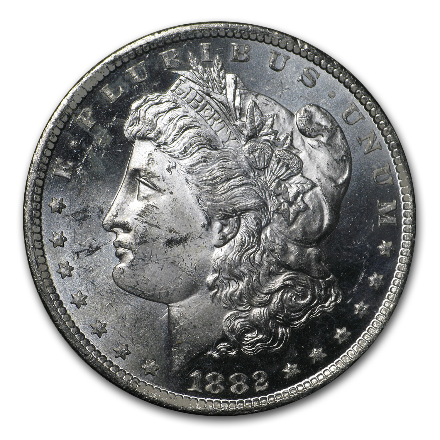 1882-CC Morgan Dollar MS-63 PL NGC (GSA)
