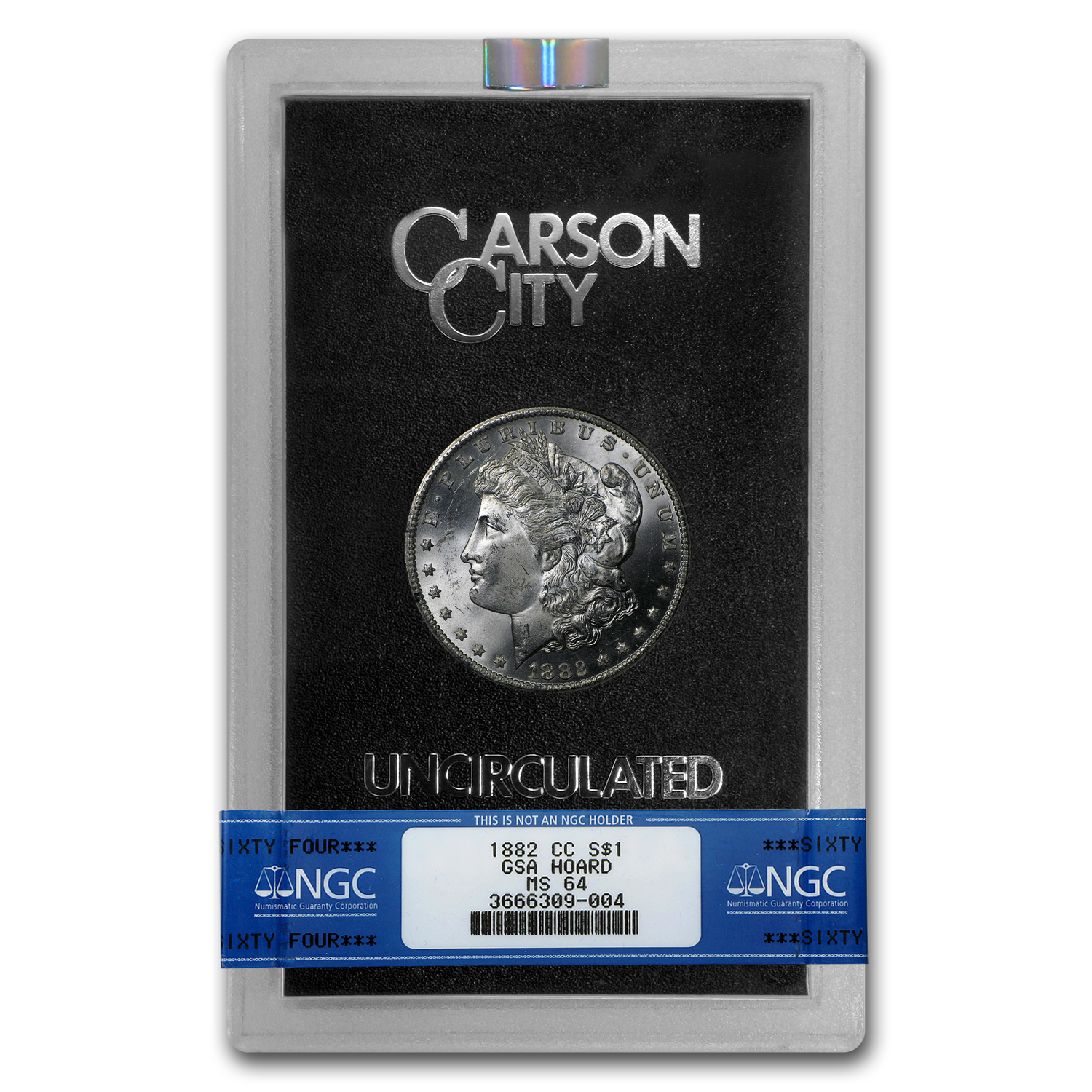 1882-CC Morgan Dollar MS-64 NGC - GSA Certified