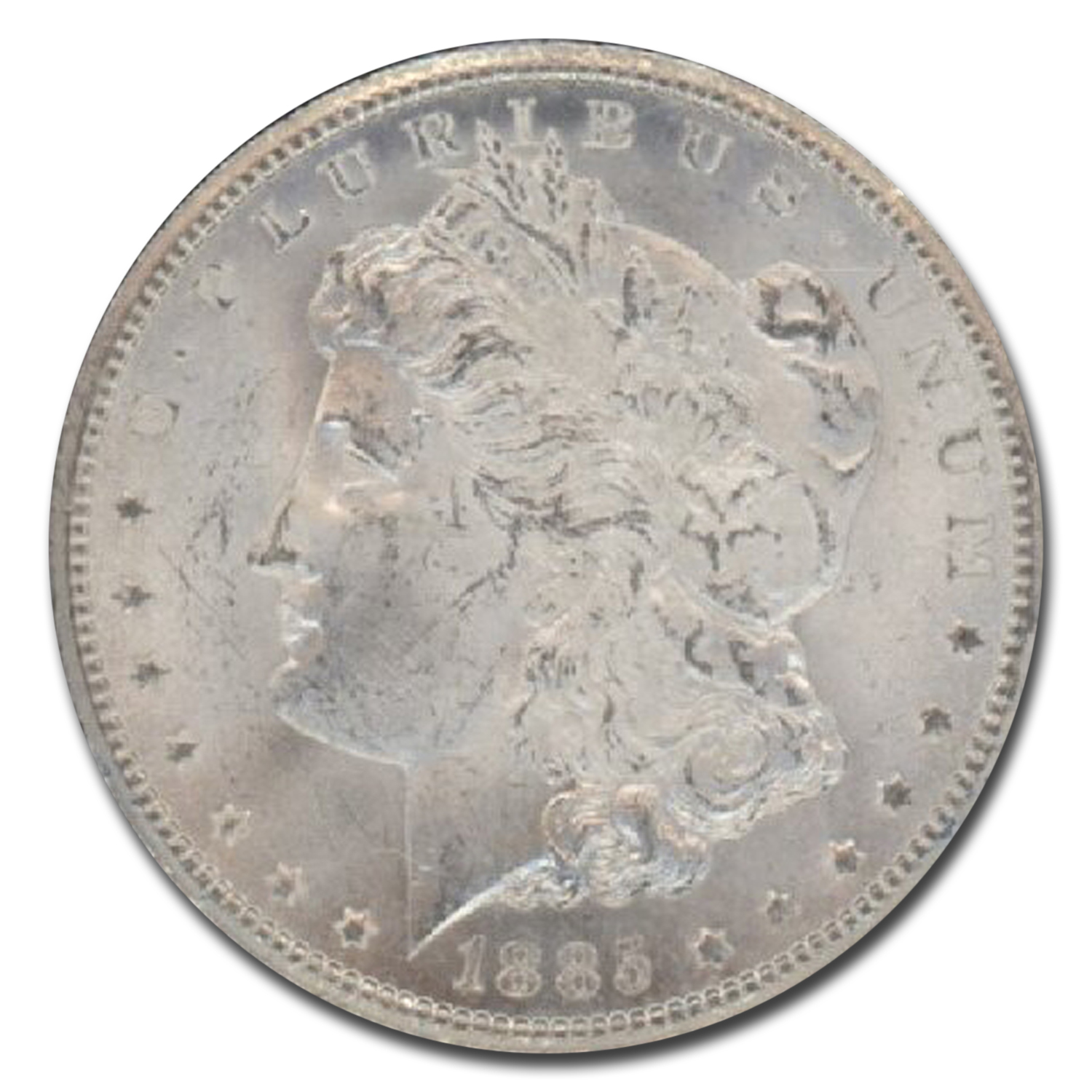1885-CC Morgan Dollar MS-64 NGC (GSA)