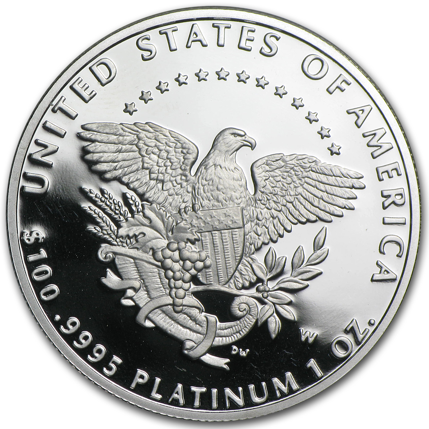 2005-W 1 oz Proof Platinum American Eagle (w/Box & COA)
