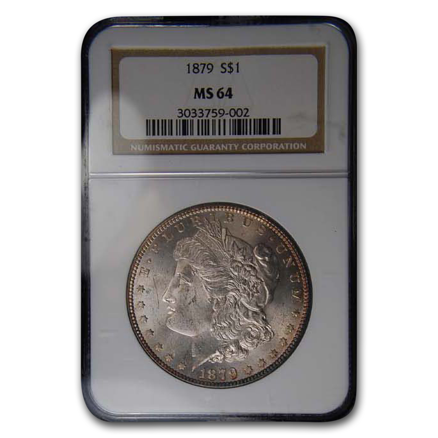 1879 Morgan Dollar MS-64 NGC