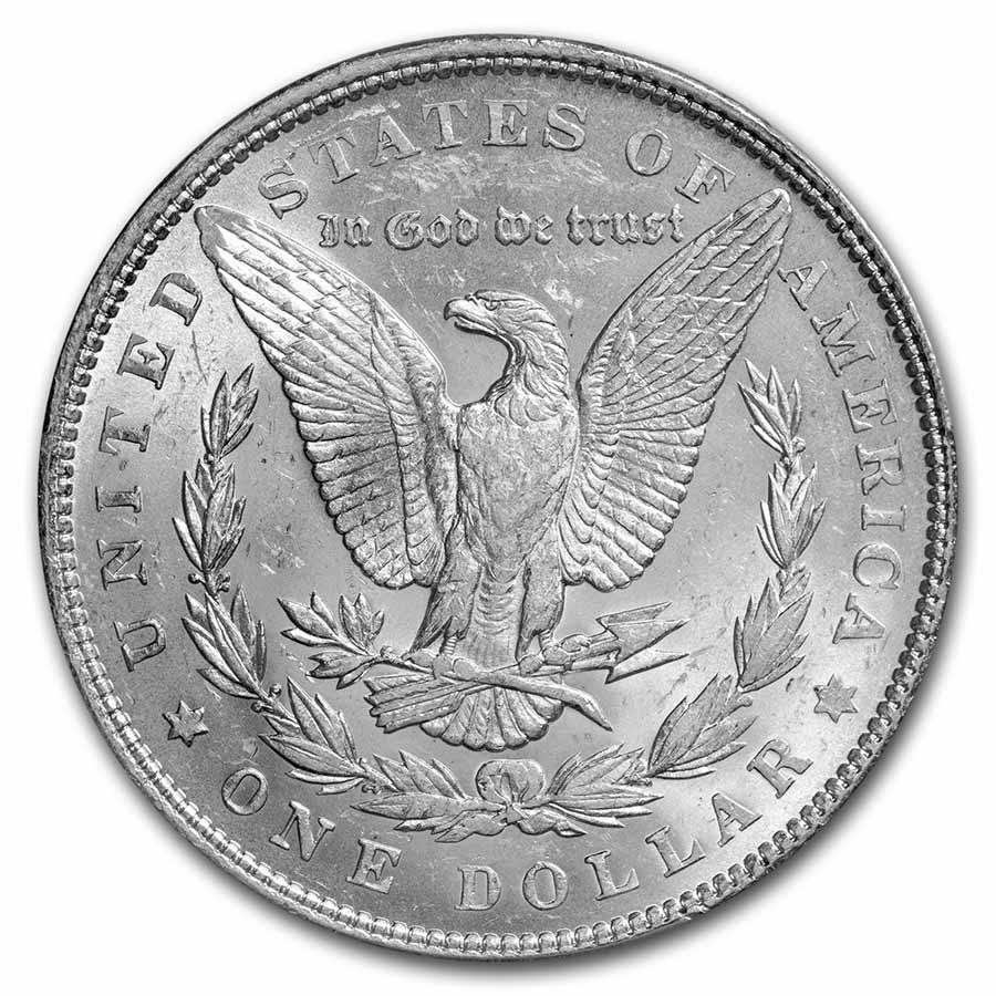 1891 Morgan Dollar MS-63 PCGS