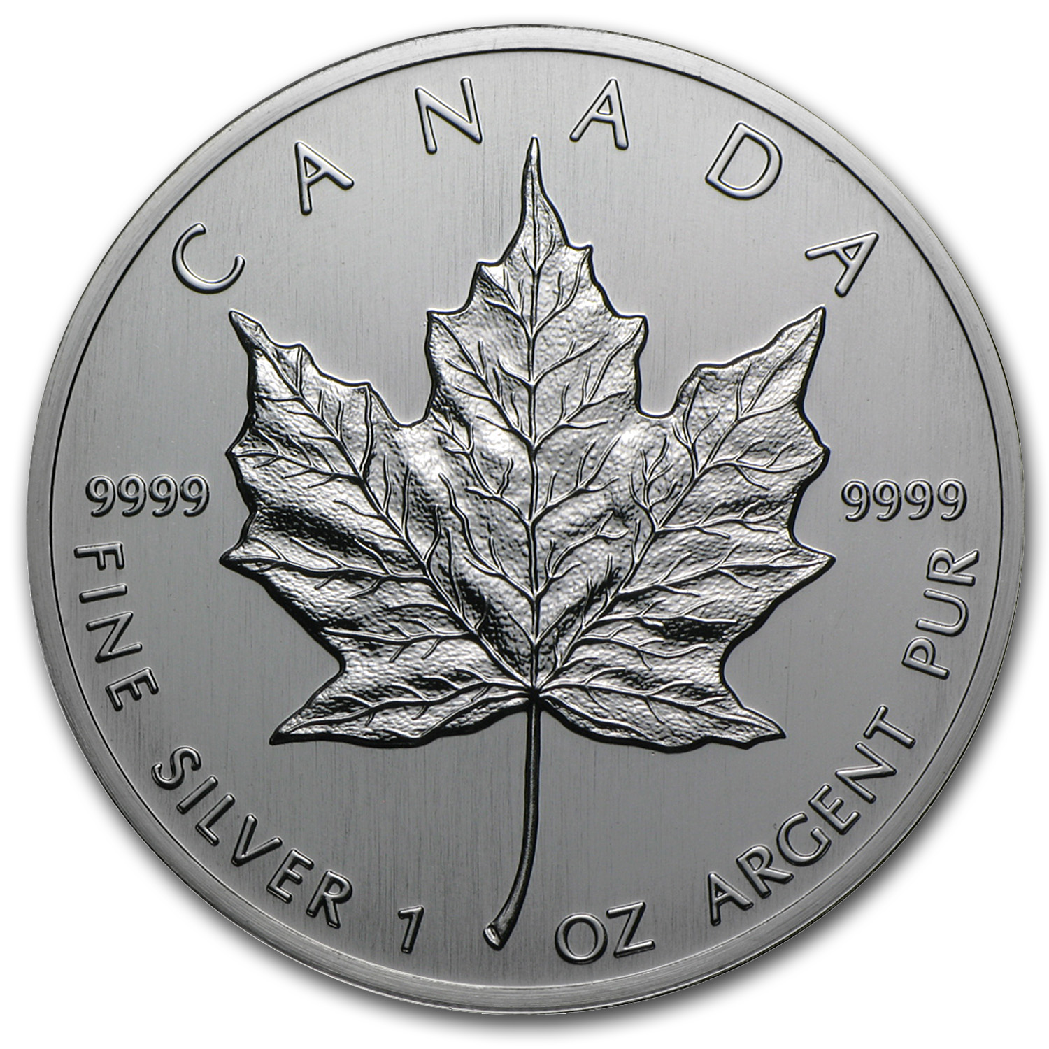 1988 1 oz Silver Canadian Maple Leaf BU