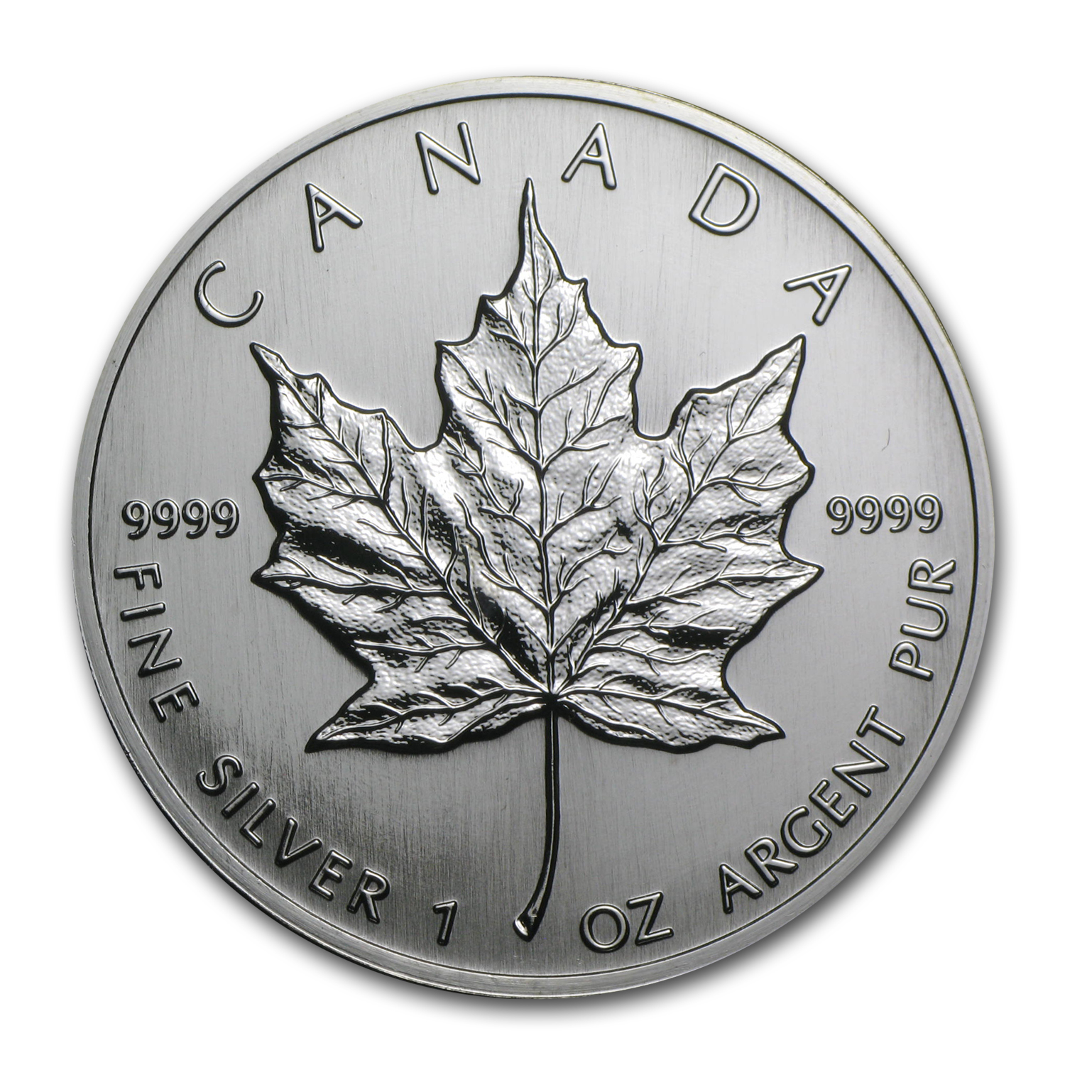 1992 Canada 1 oz Silver Maple Leaf BU