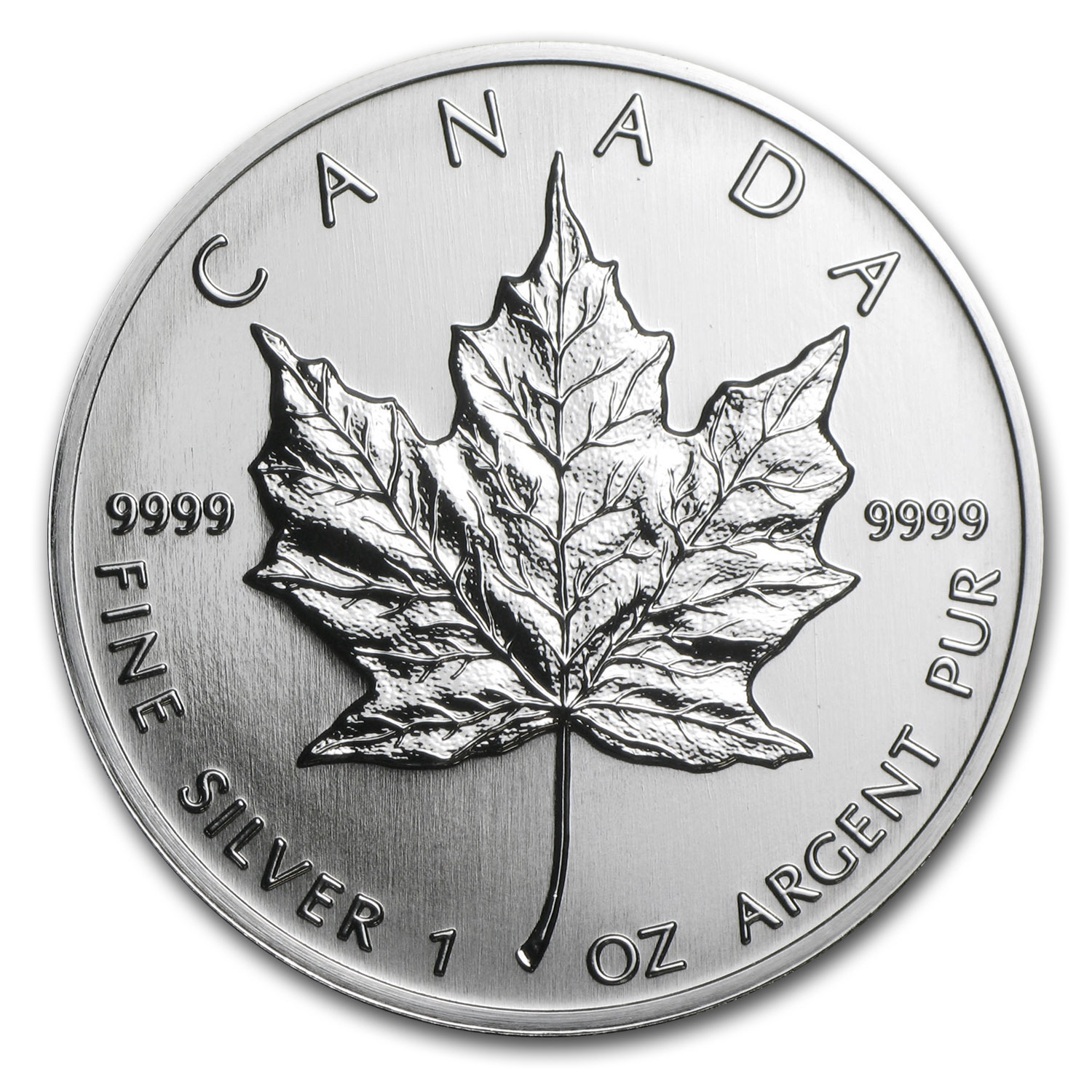 1993 Canada 1 oz Silver Maple Leaf BU