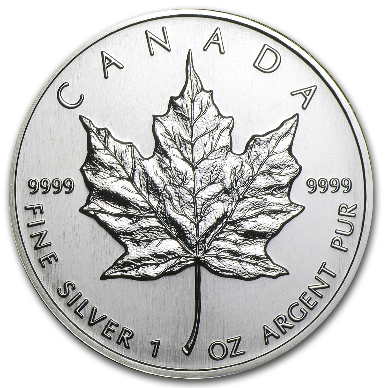 1994 1 oz Silver Canadian Maple Leaf BU