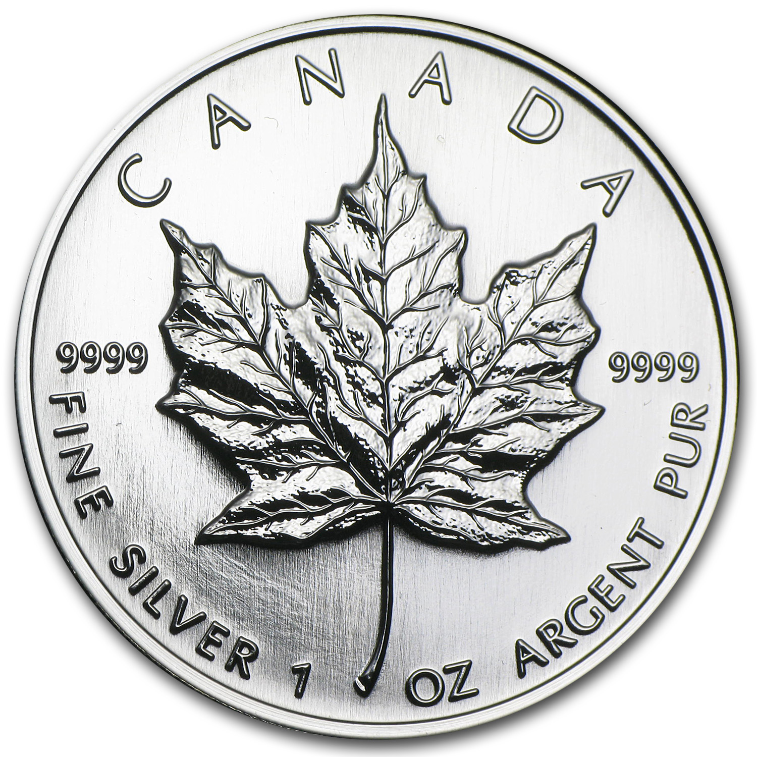 1998 1 oz Silver Canadian Maple Leaf (Brilliant Uncirculated)