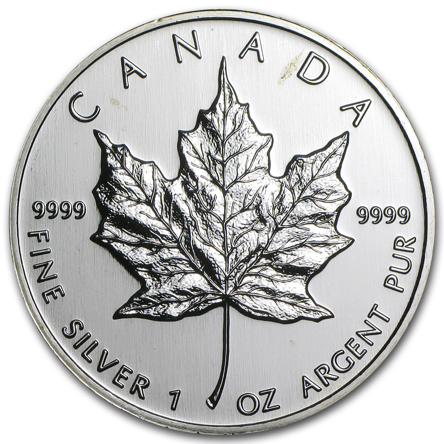 1999 Canada 1 oz Silver Maple Leaf BU