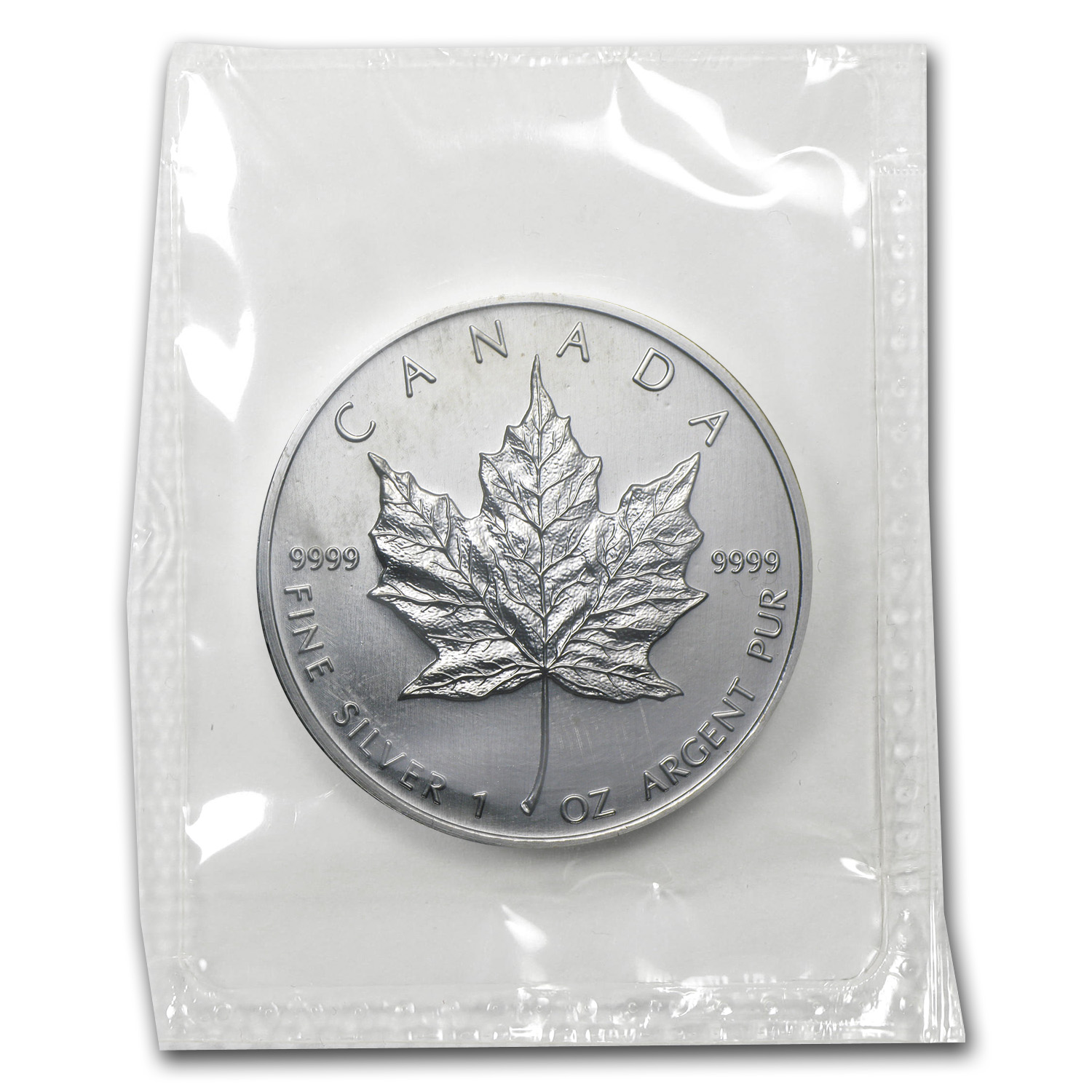 2003 1 oz Silver Canadian Maple Leaf BU