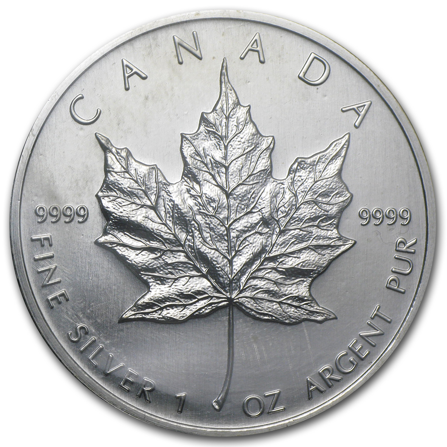 2003 Canada 1 oz Silver Maple Leaf BU